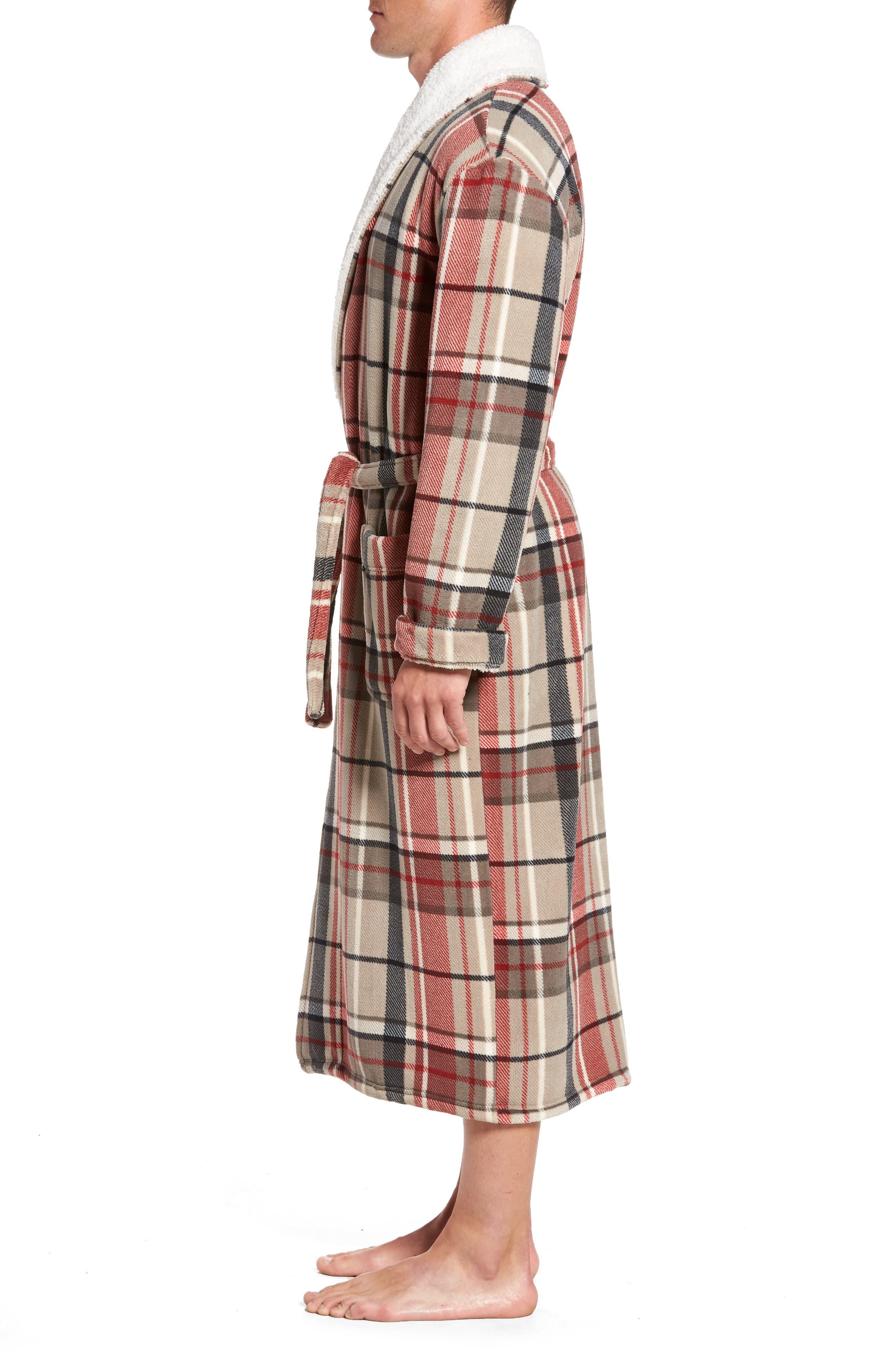 Alternate Image 3  - Majestic International Holly Jolly Robe