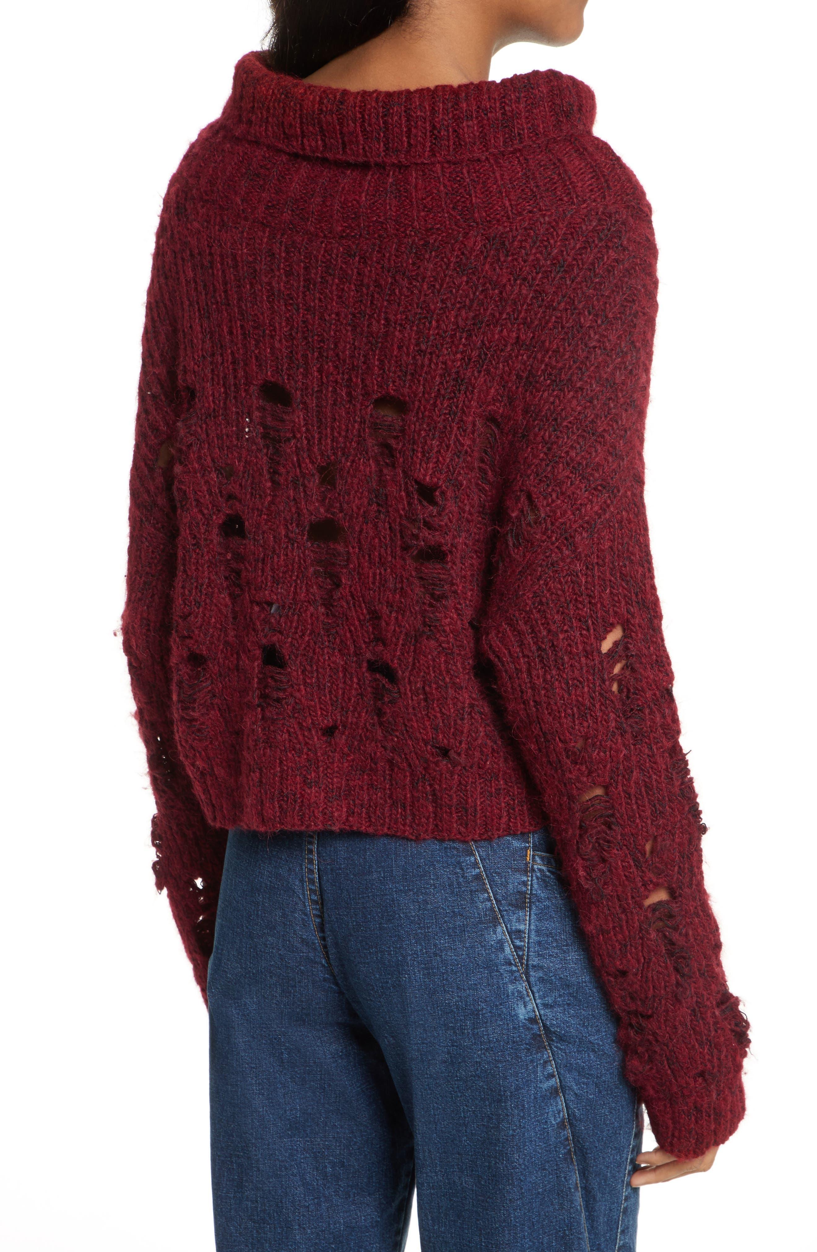 Alternate Image 2  - Rachel Comey Tigris Crop Turtleneck Sweater