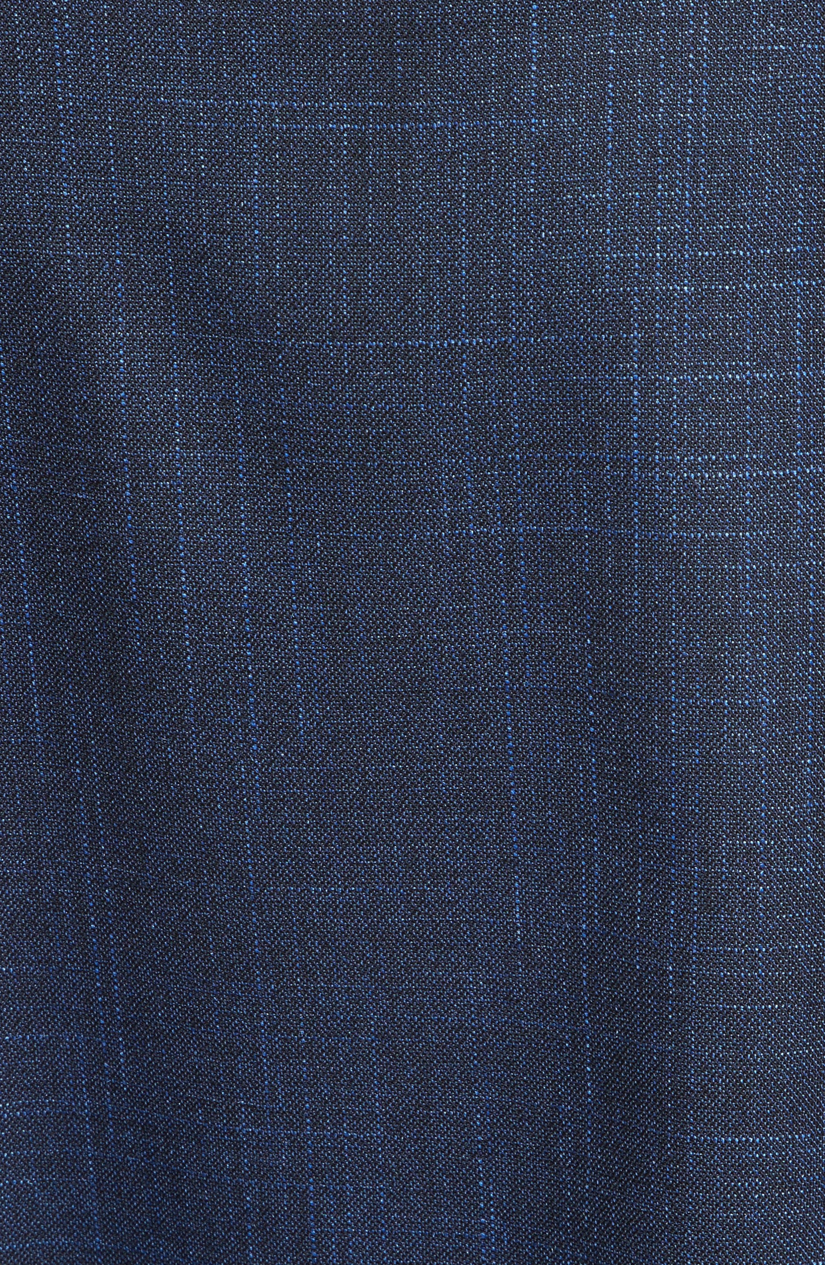 Alternate Image 5  - Colovos Asymmetrical Mixed Media Skirt