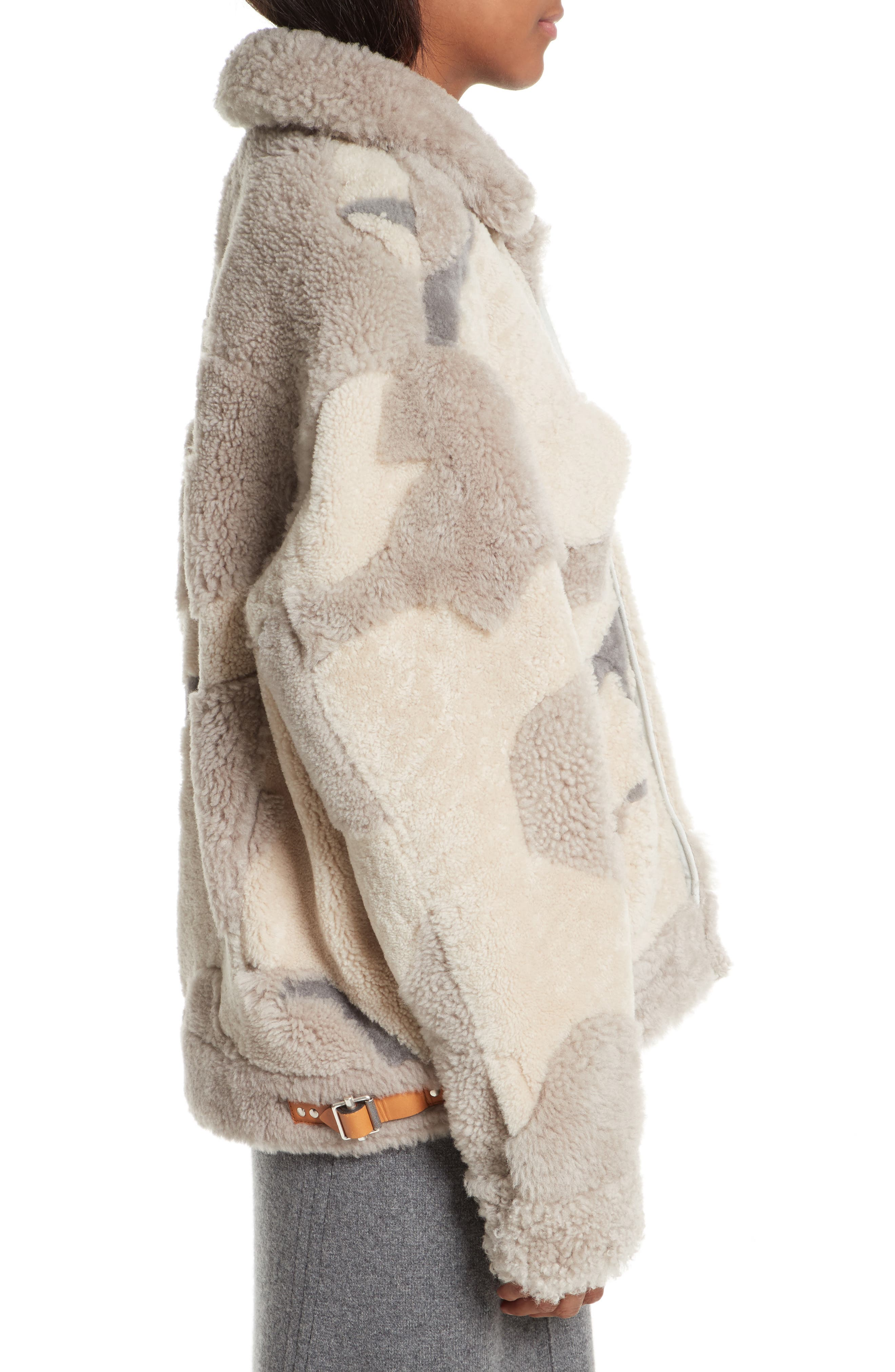 Alternate Image 5  - rag & bone Jake Camo Genuine Shearling Jacket