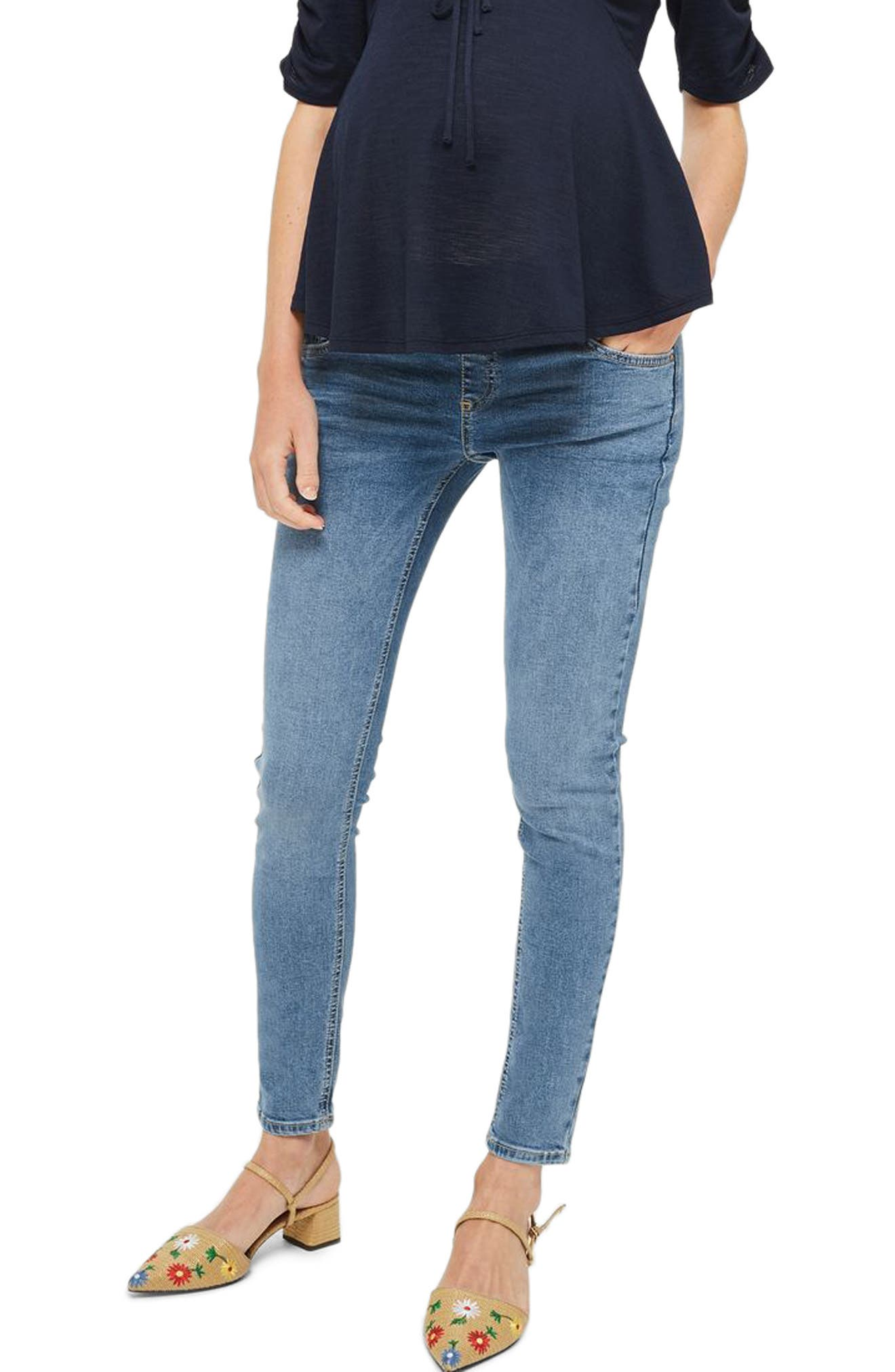 Topshop Jamie Maternity Skinny Jeans