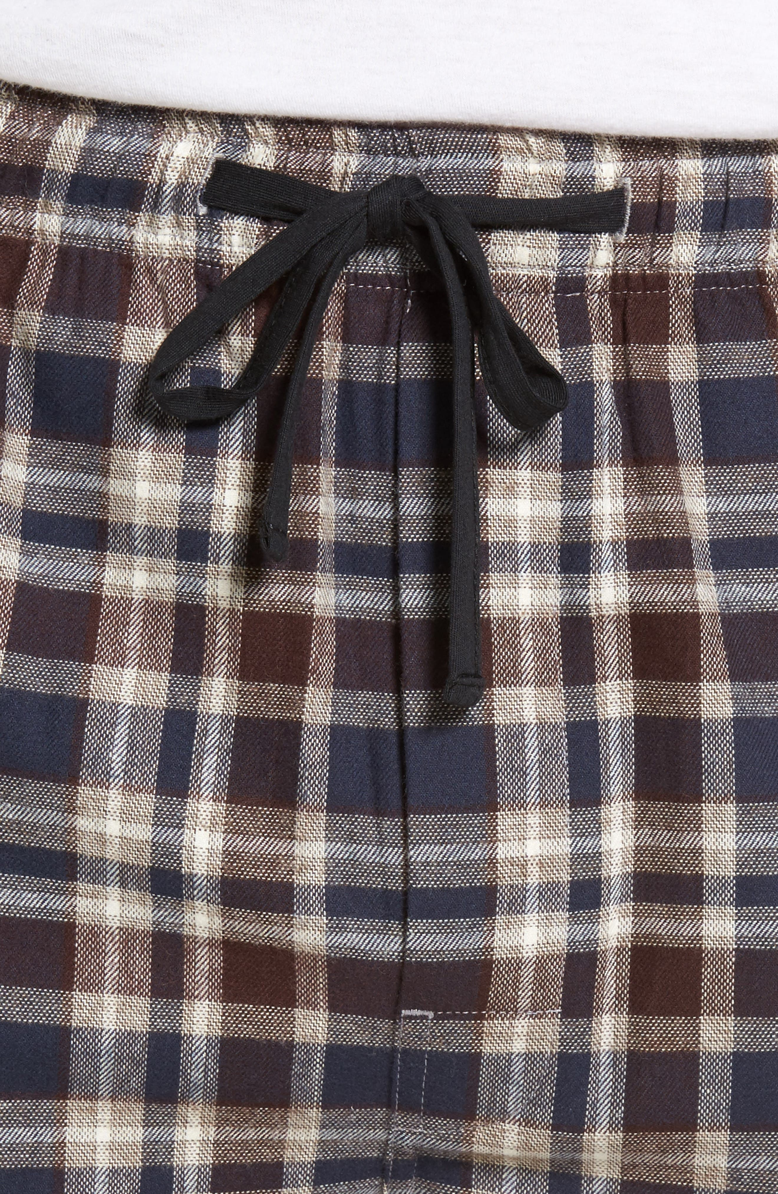 Alternate Image 4  - Majestic International Bryson Plaid Flannel Lounge Pants