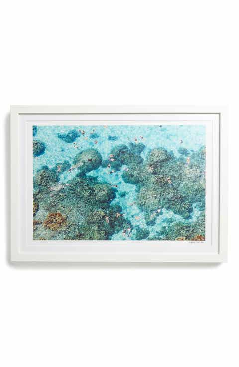 Gray Malin The Reef Bora Framed Art Print
