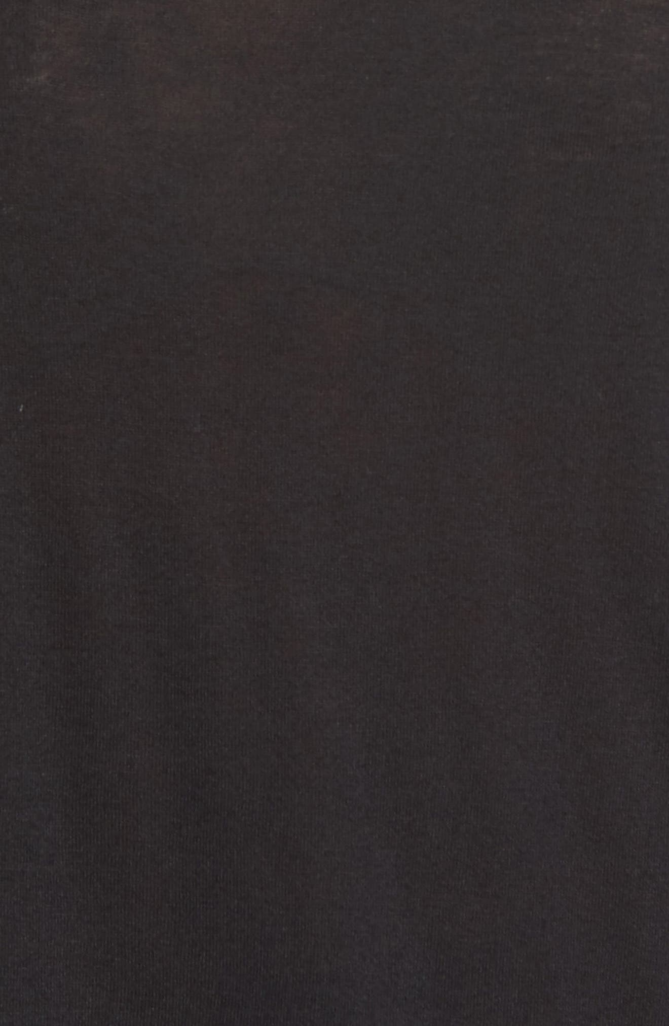 Alternate Image 5  - Halogen® Shirttail Tee (Regular & Petite)