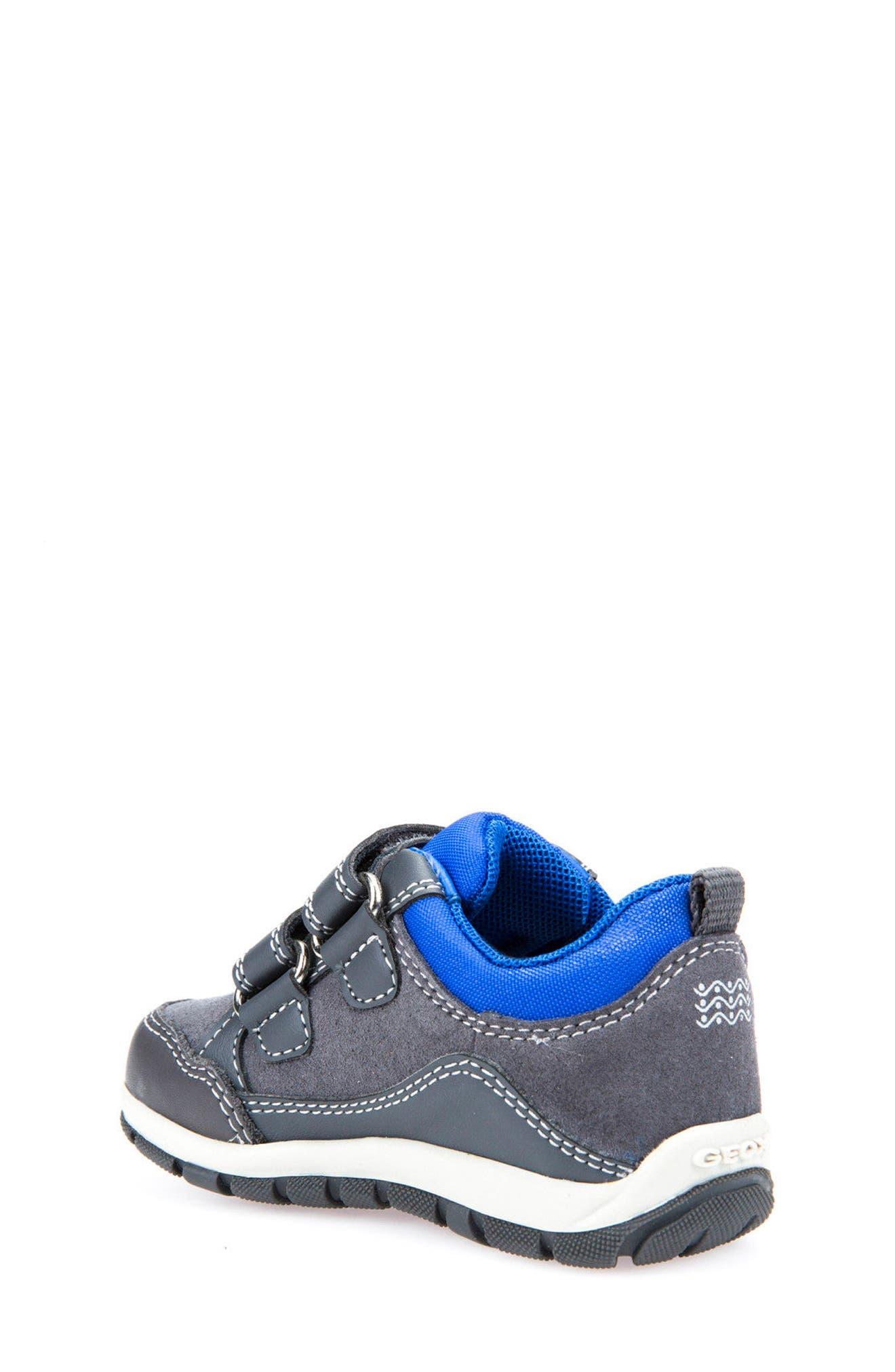 'Shaax 9' Sneaker,                             Alternate thumbnail 3, color,                             Grey/ Royal