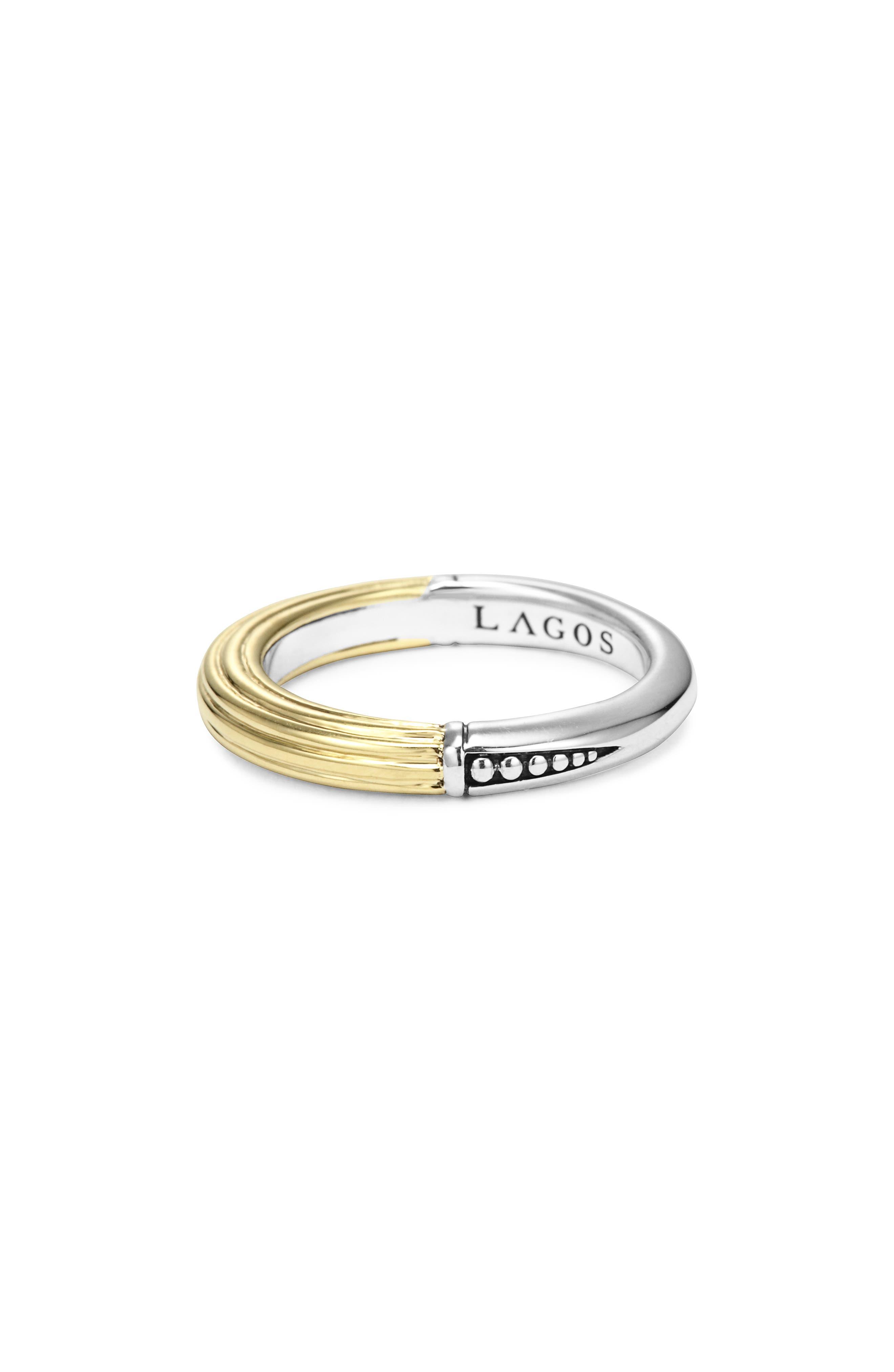 Alternate Image 3  - LAGOS Ribbed Stacking Ring