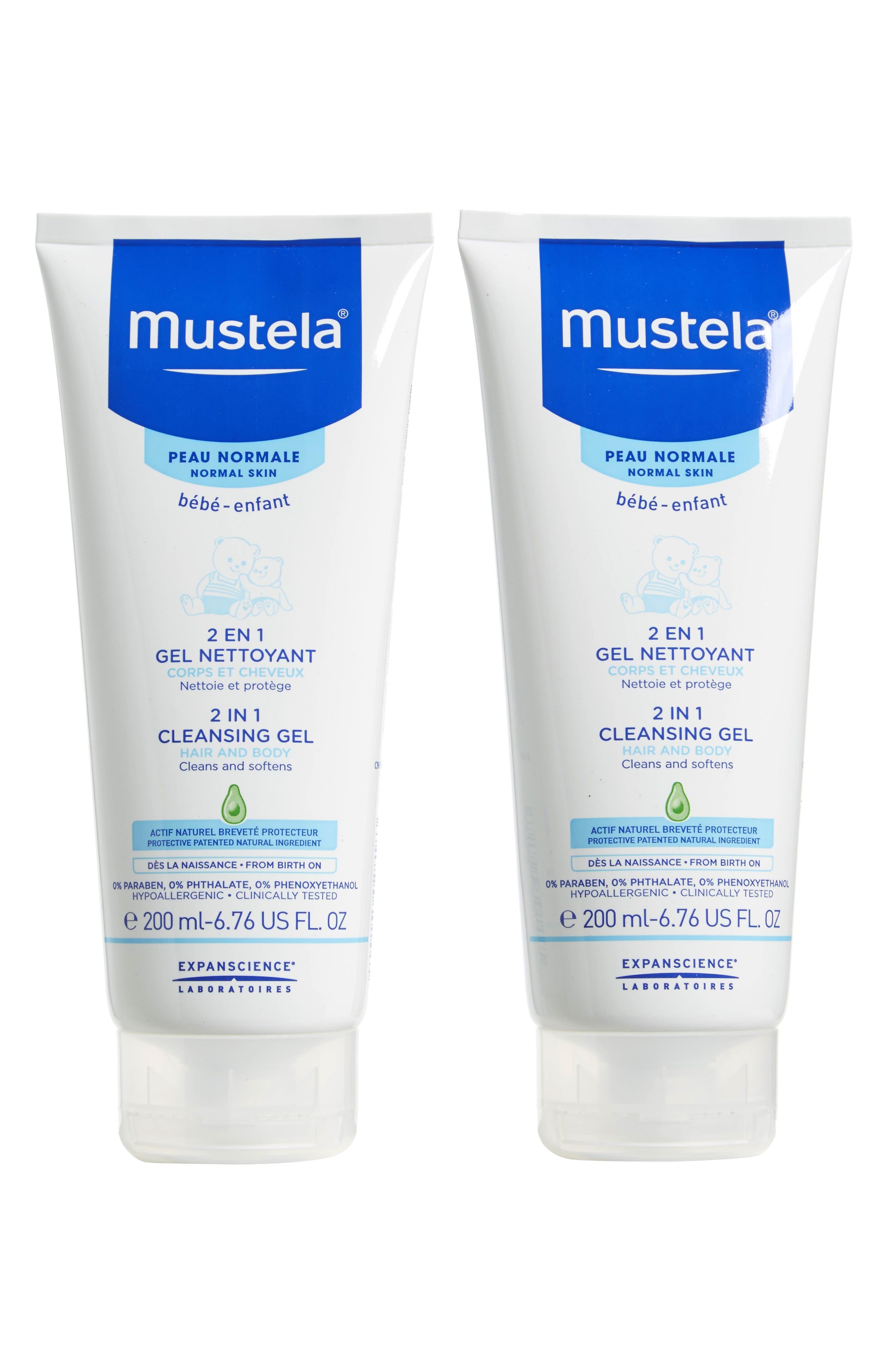 Mustela® 2-Pack 2-in-1 Cleansing Gel for Hair