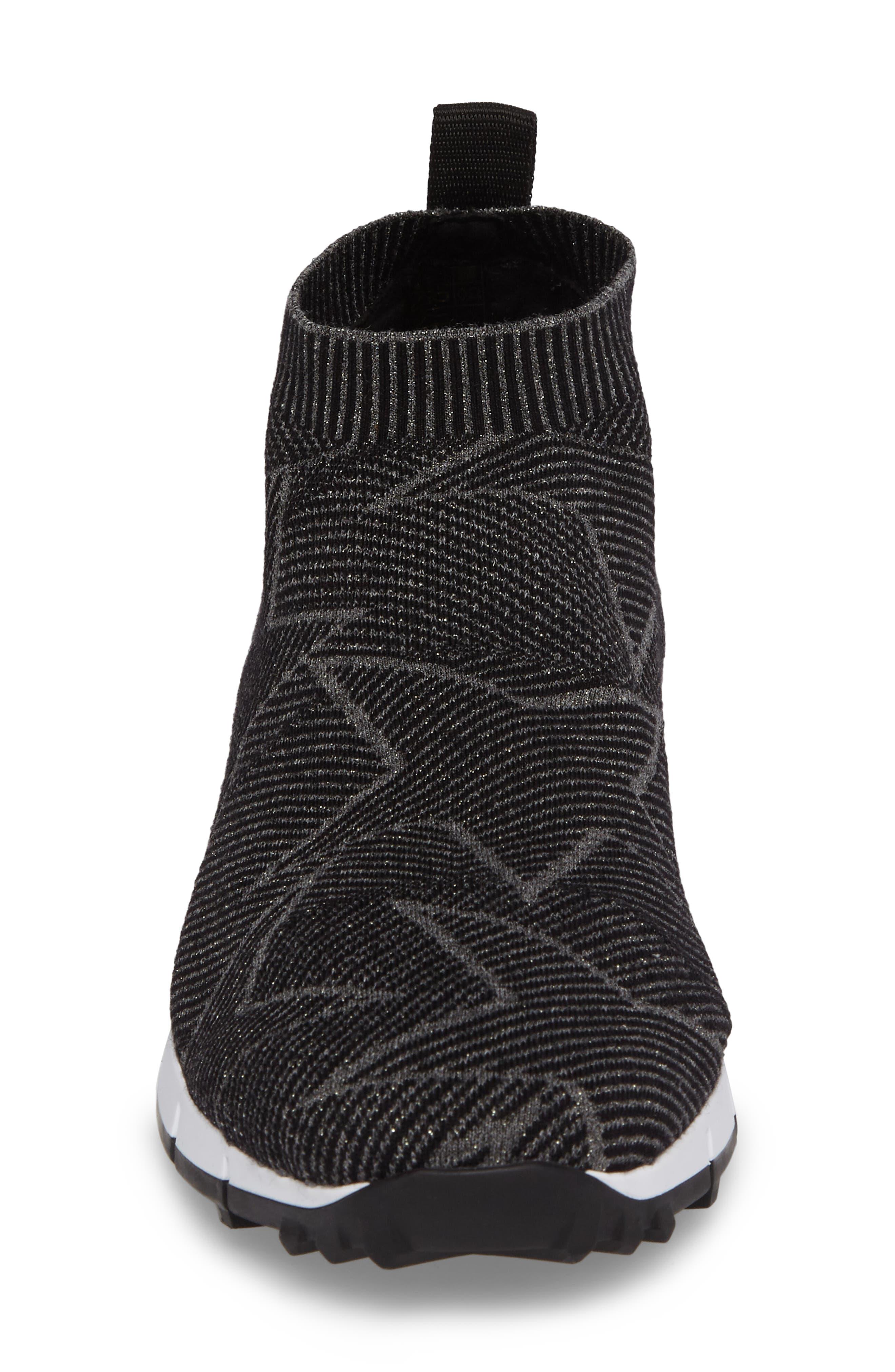 Alternate Image 4  - Jimmy Choo Norway High Top Sock Sneaker (Men)