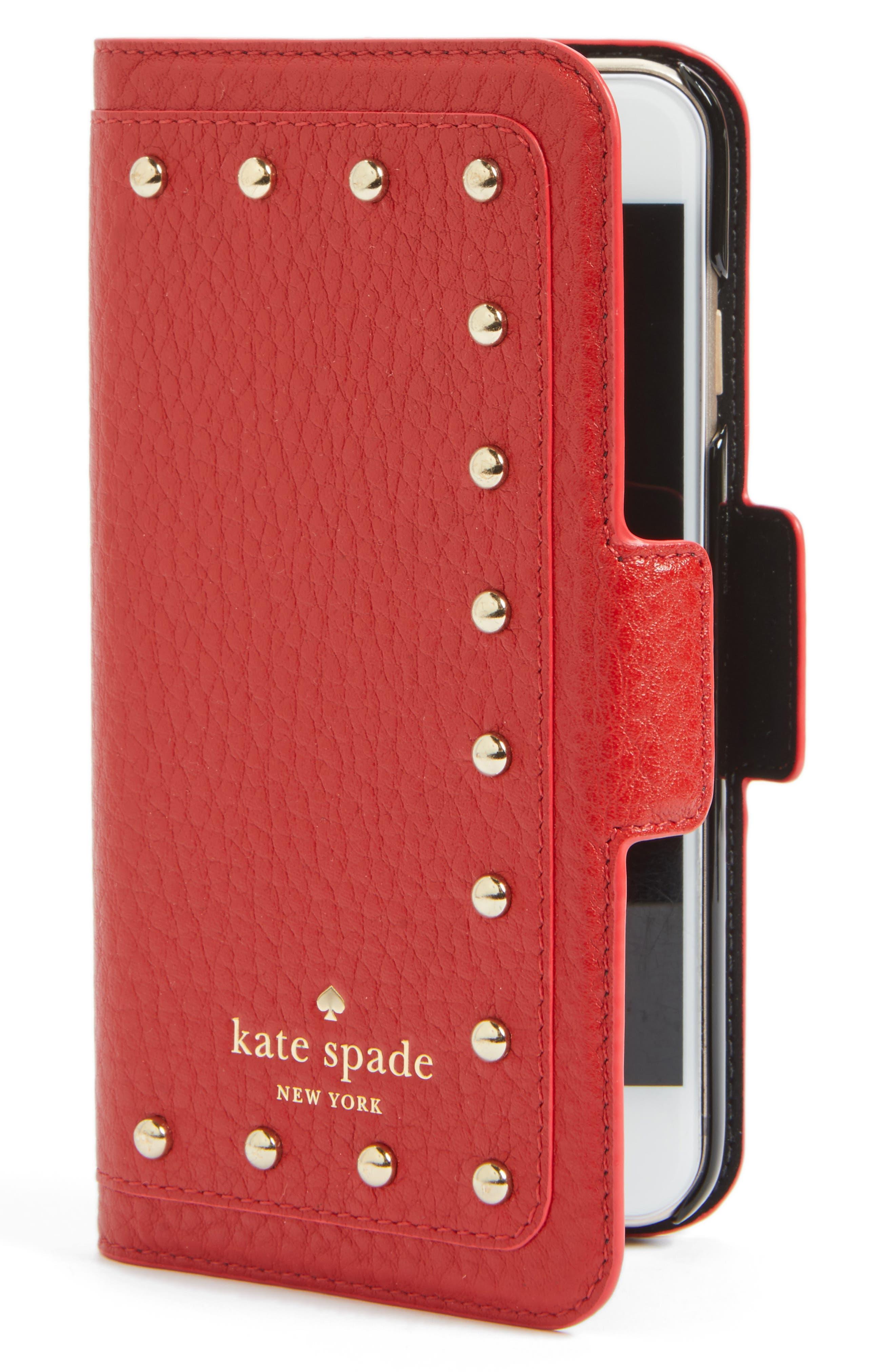kate spade new york embellished iPhone 7 & 7 Plus folio case