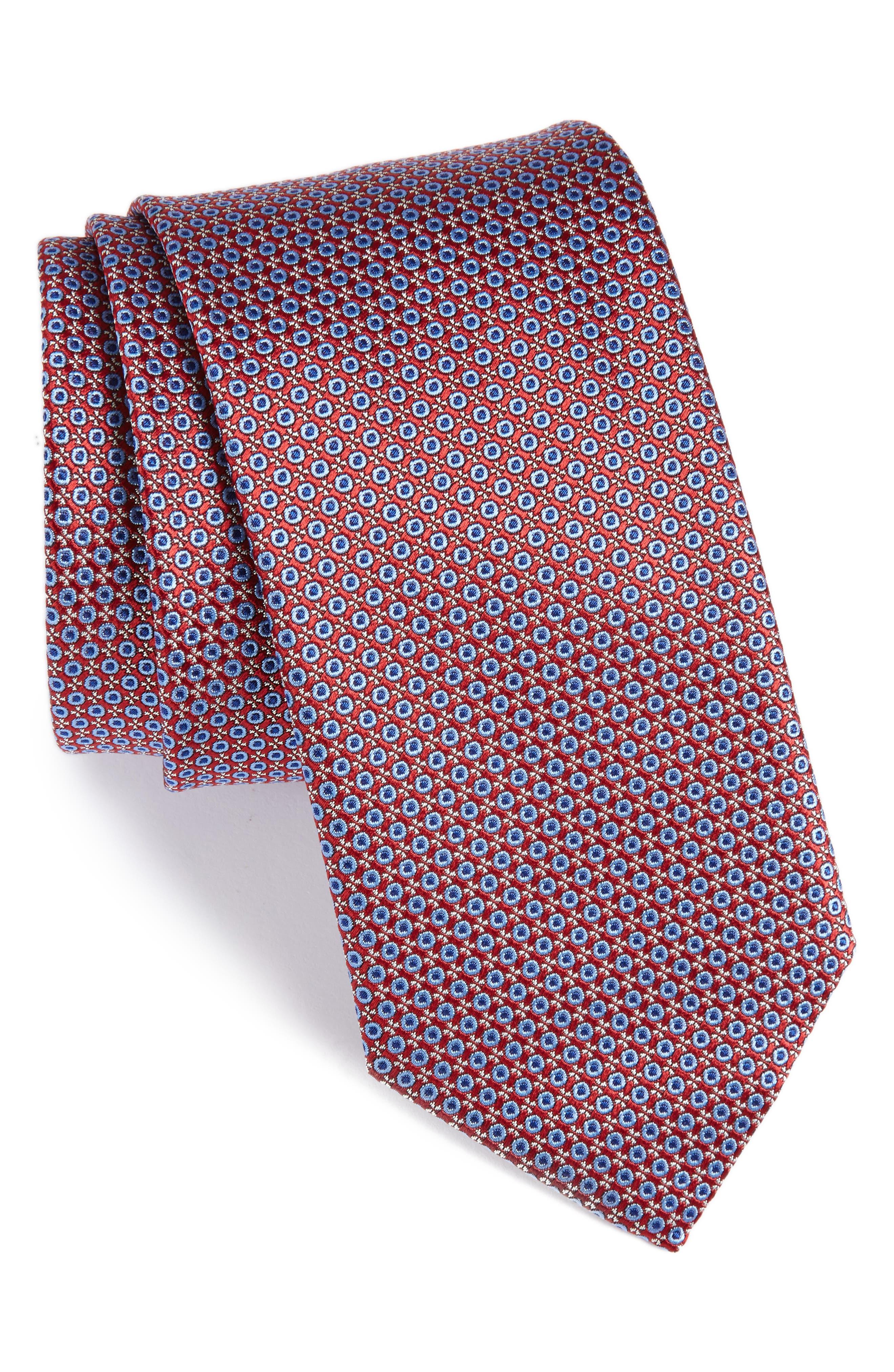Main Image - Canali Geometric Silk Tie
