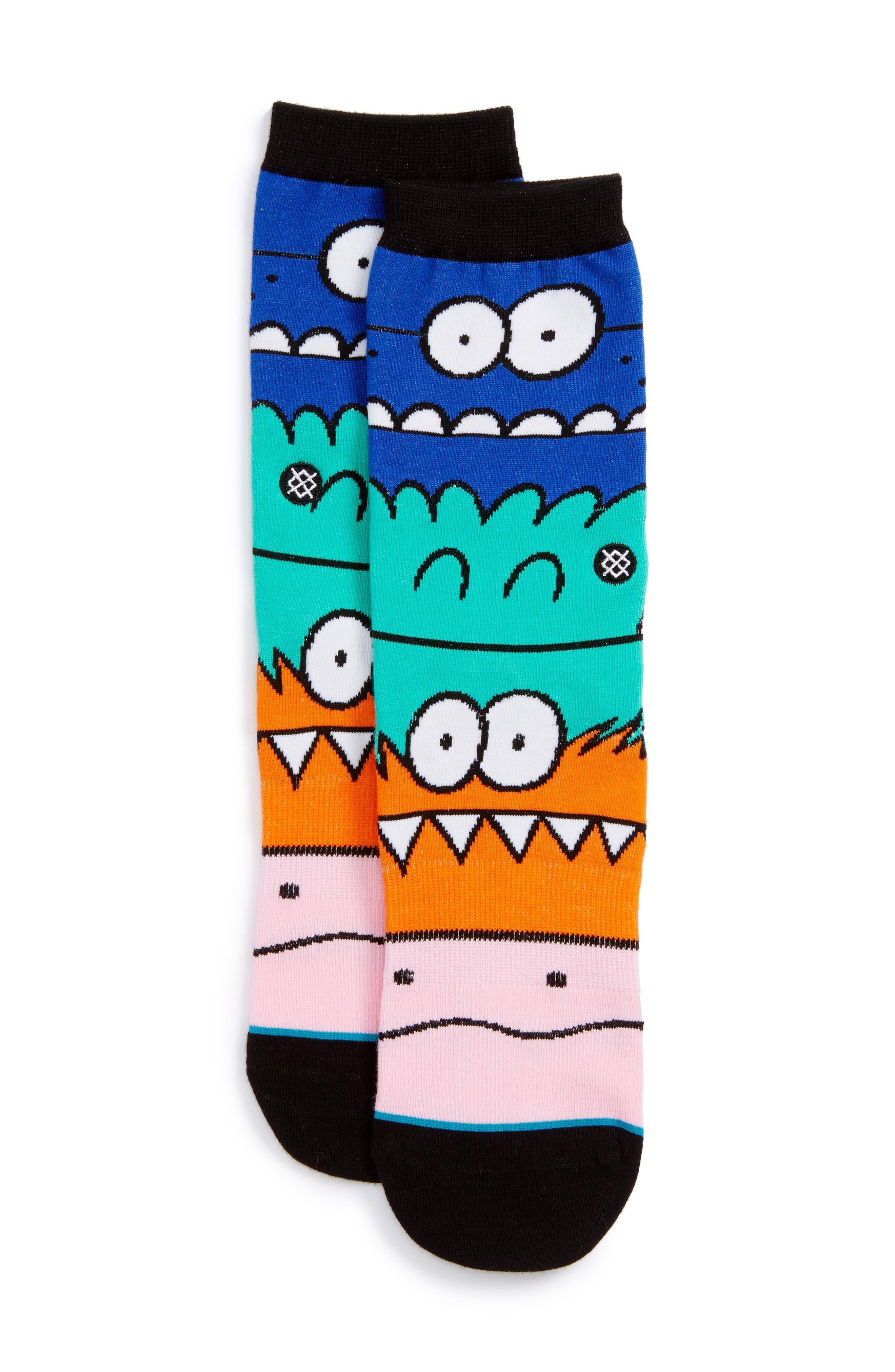 Stance Monster Mash Socks (Little Kid)