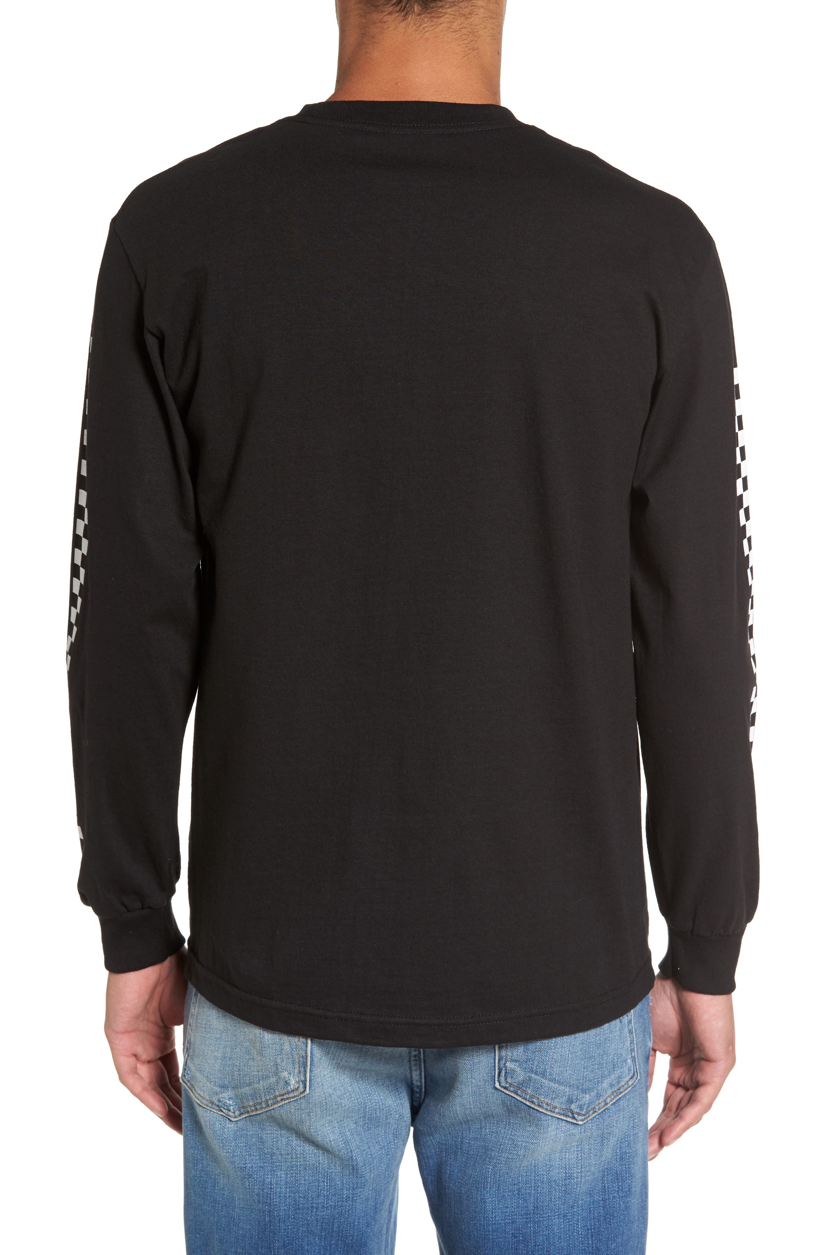 Alternate Image 2  - Vans Checkmate Long Sleeve Graphic T-Shirt