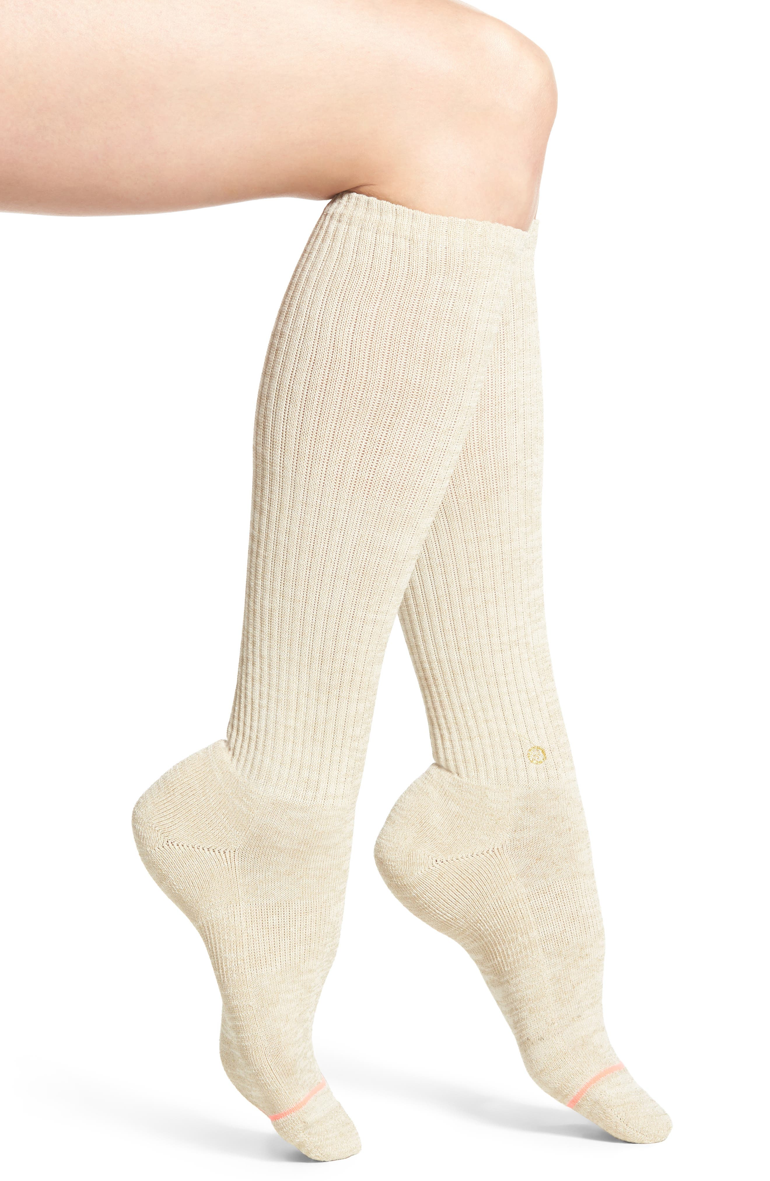 Stance Solange Ribbed Boot Socks