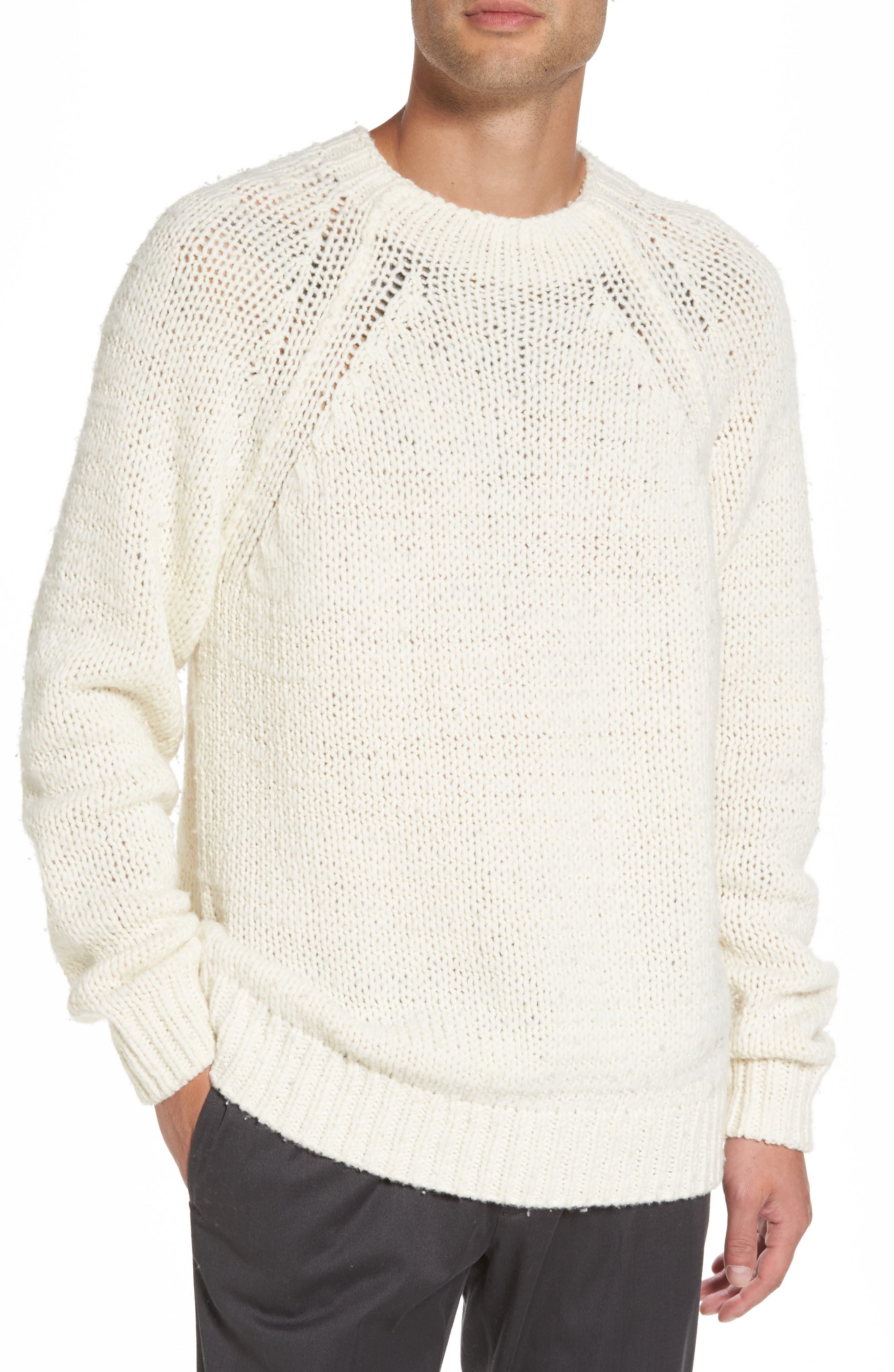 Raglan Sweater,                         Main,                         color, Breeze