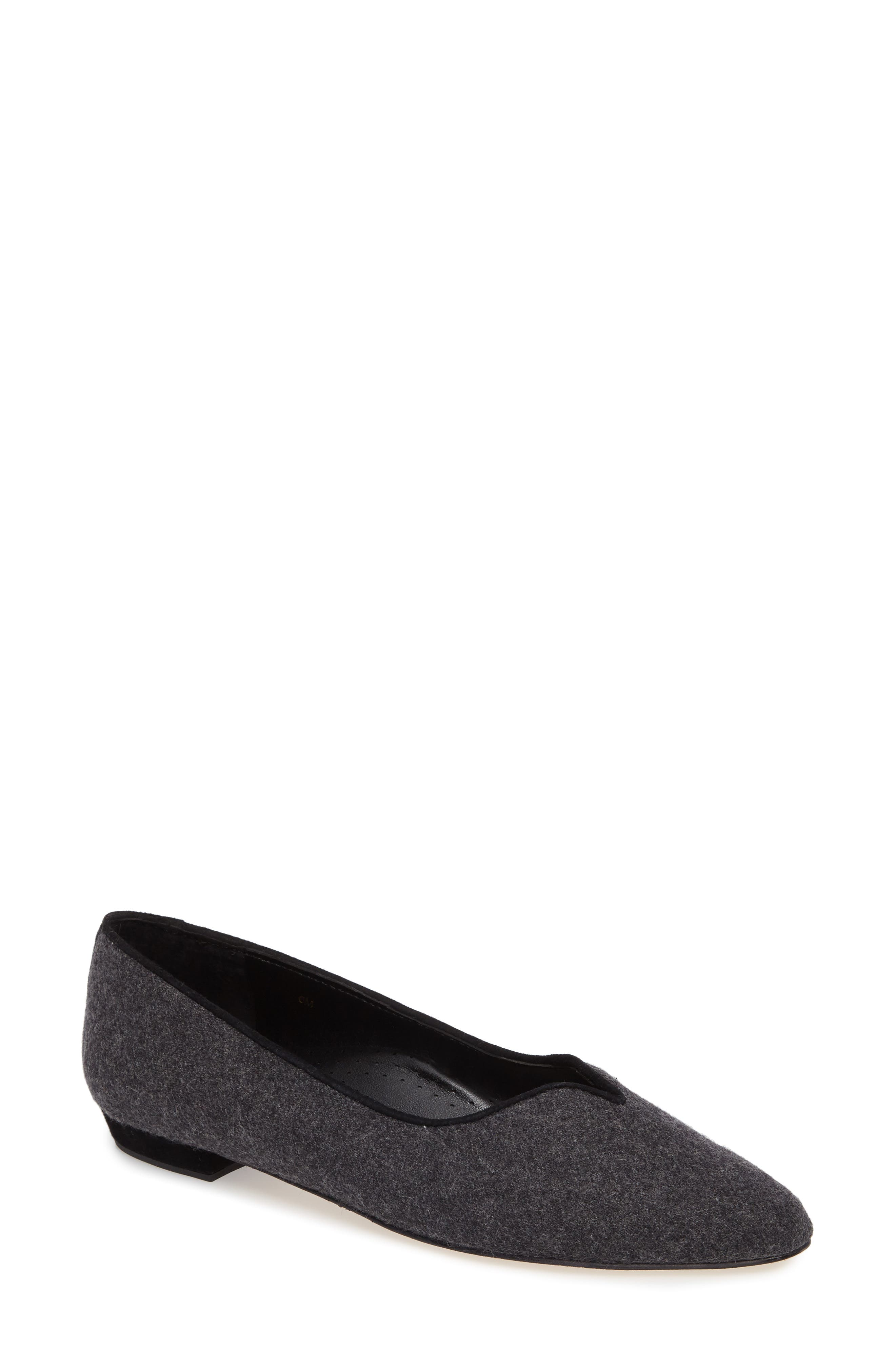 Alternate Image 1 Selected - VANELi 'Ganet' Pointy Toe Flat (Women)