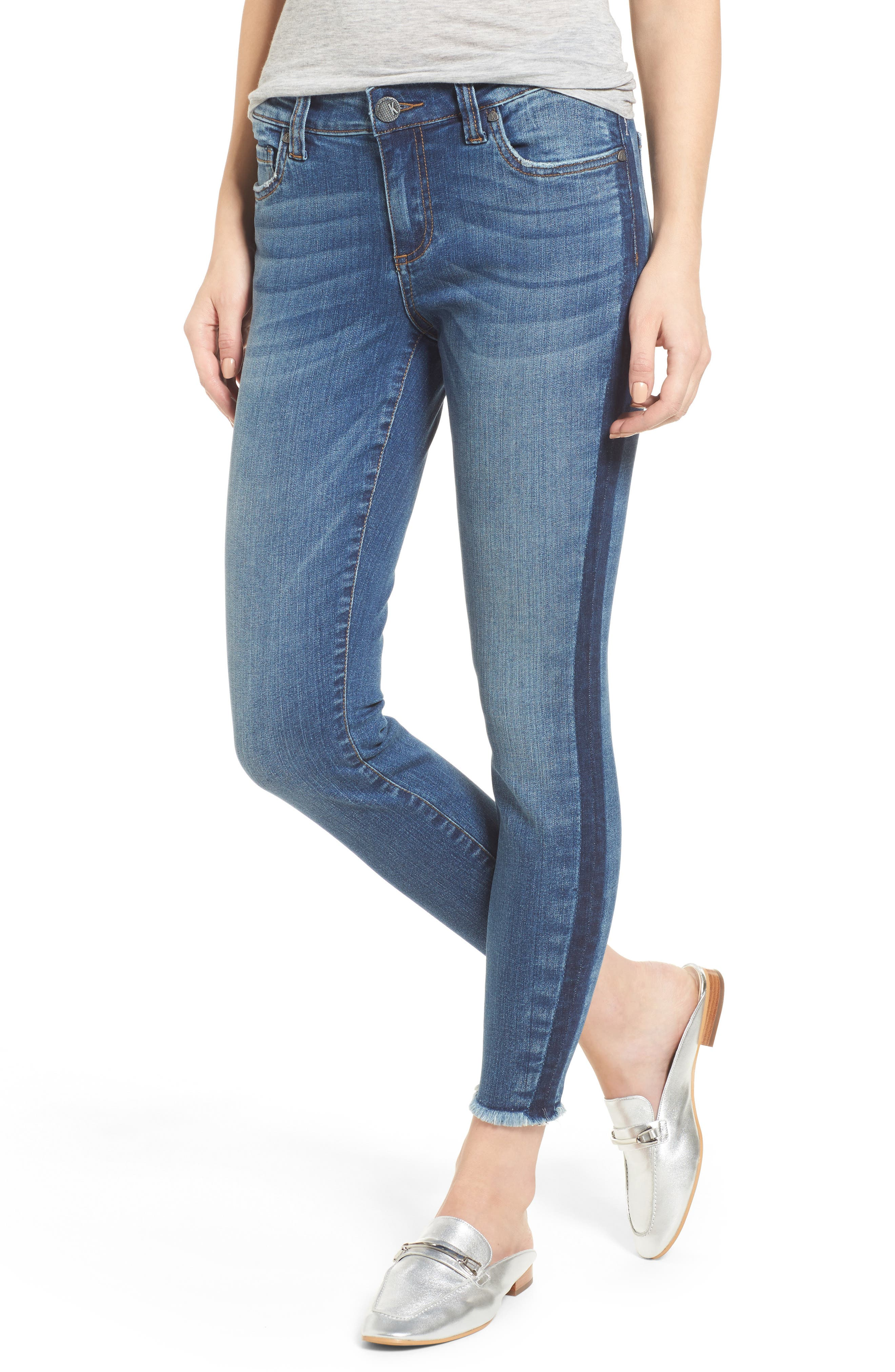 KUT from the Kloth Connie Ankle Skinny Jeans (Prolific)