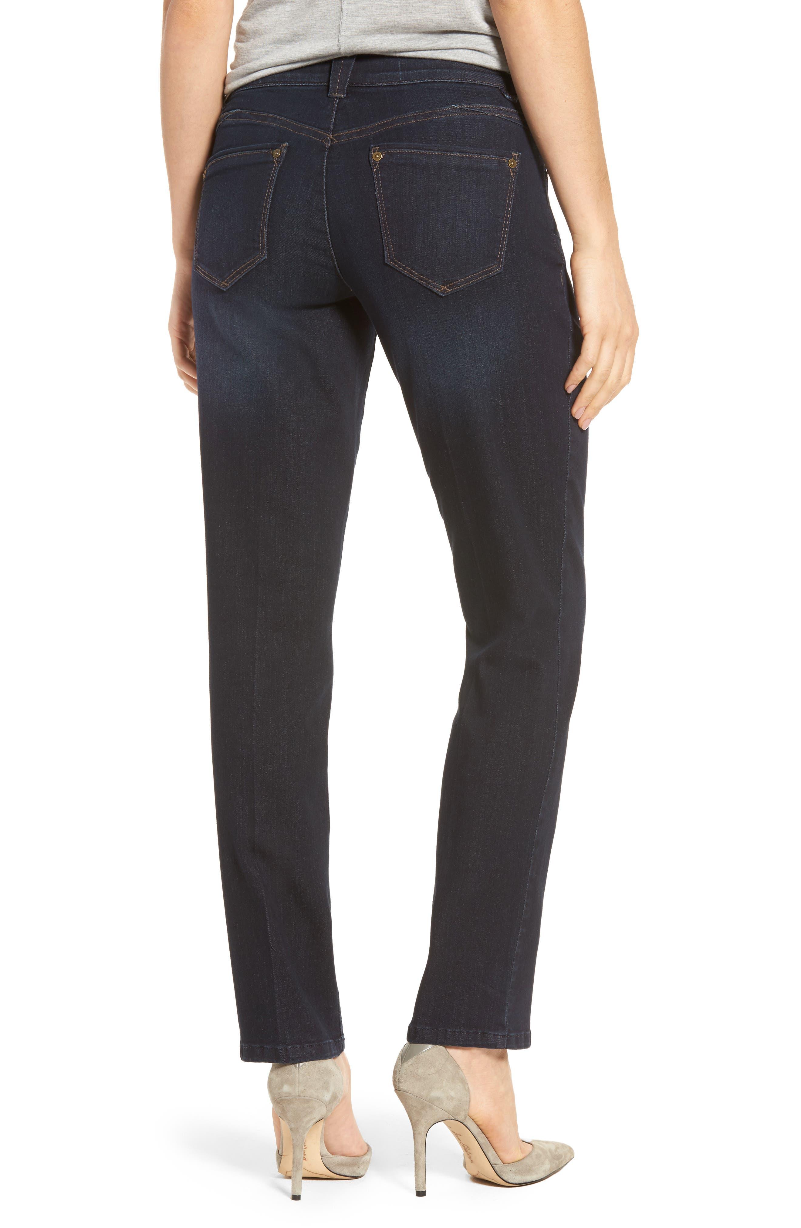 Alternate Image 2  - Wit & Wisdom Ab-solution Straight Leg Jeans (Regular & Petite) (Nordstrom Exclusive)