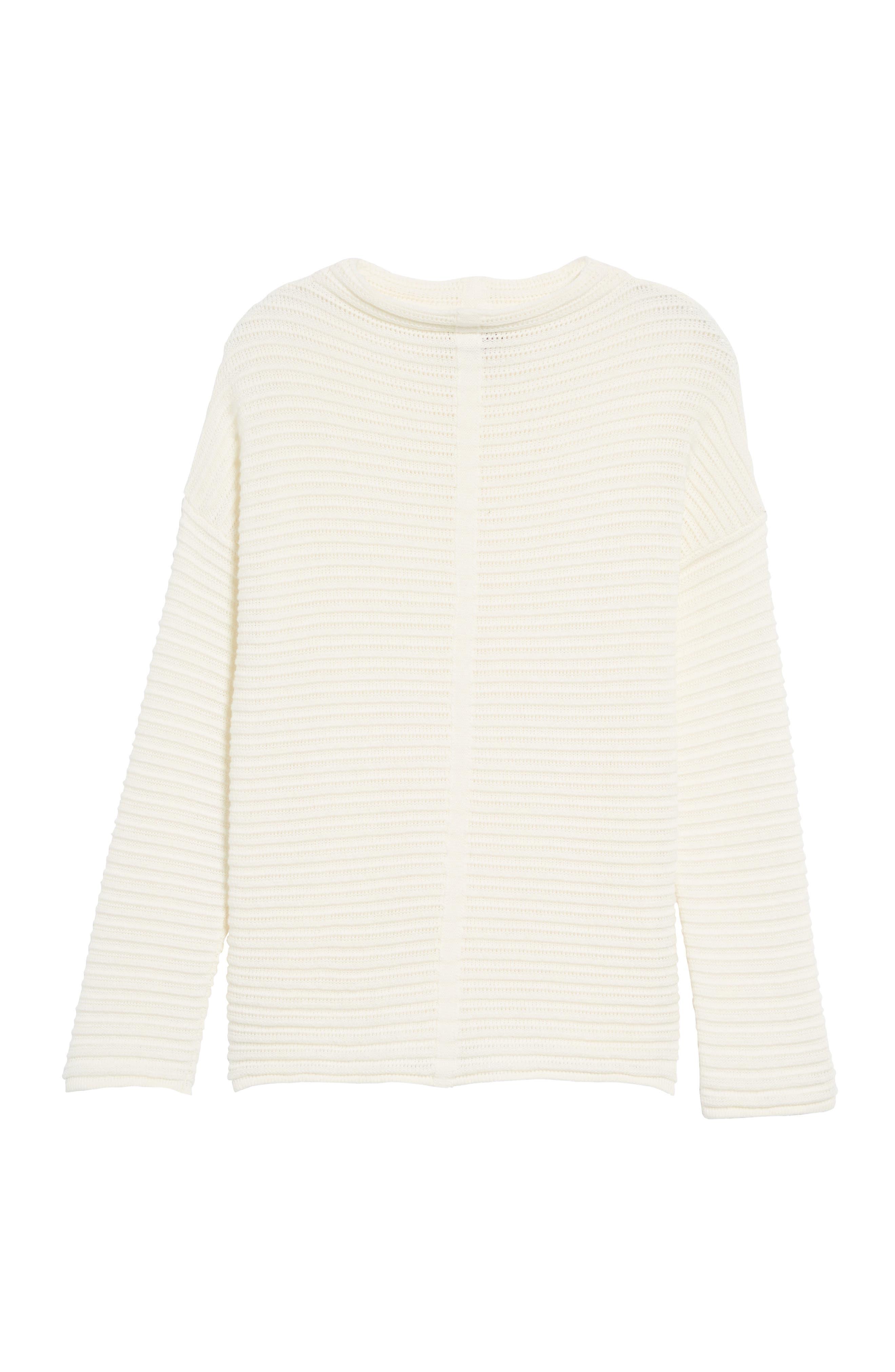 Alternate Image 5  - Barbour Linton Open Stitch Sweater