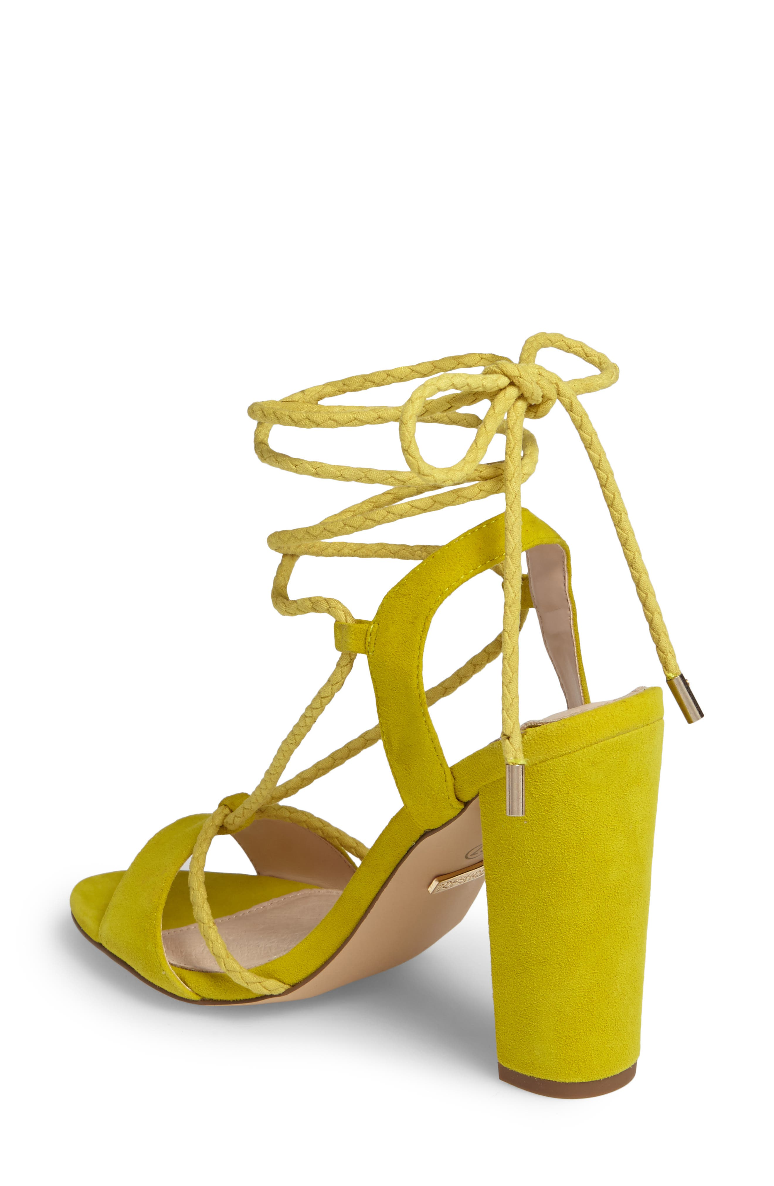 Alternate Image 2  - Topshop Reno Ankle Tie Sandal (Women)