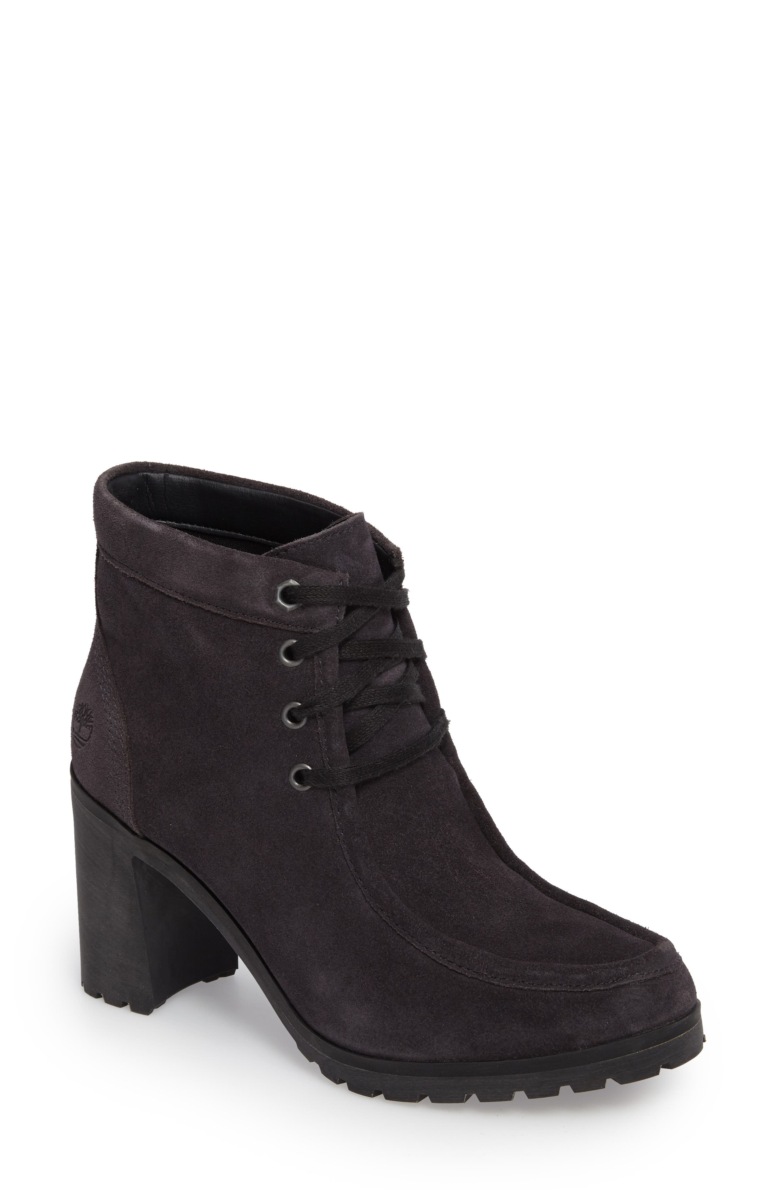 Timberland Allington Block Heel Chukka Bootie (Women)