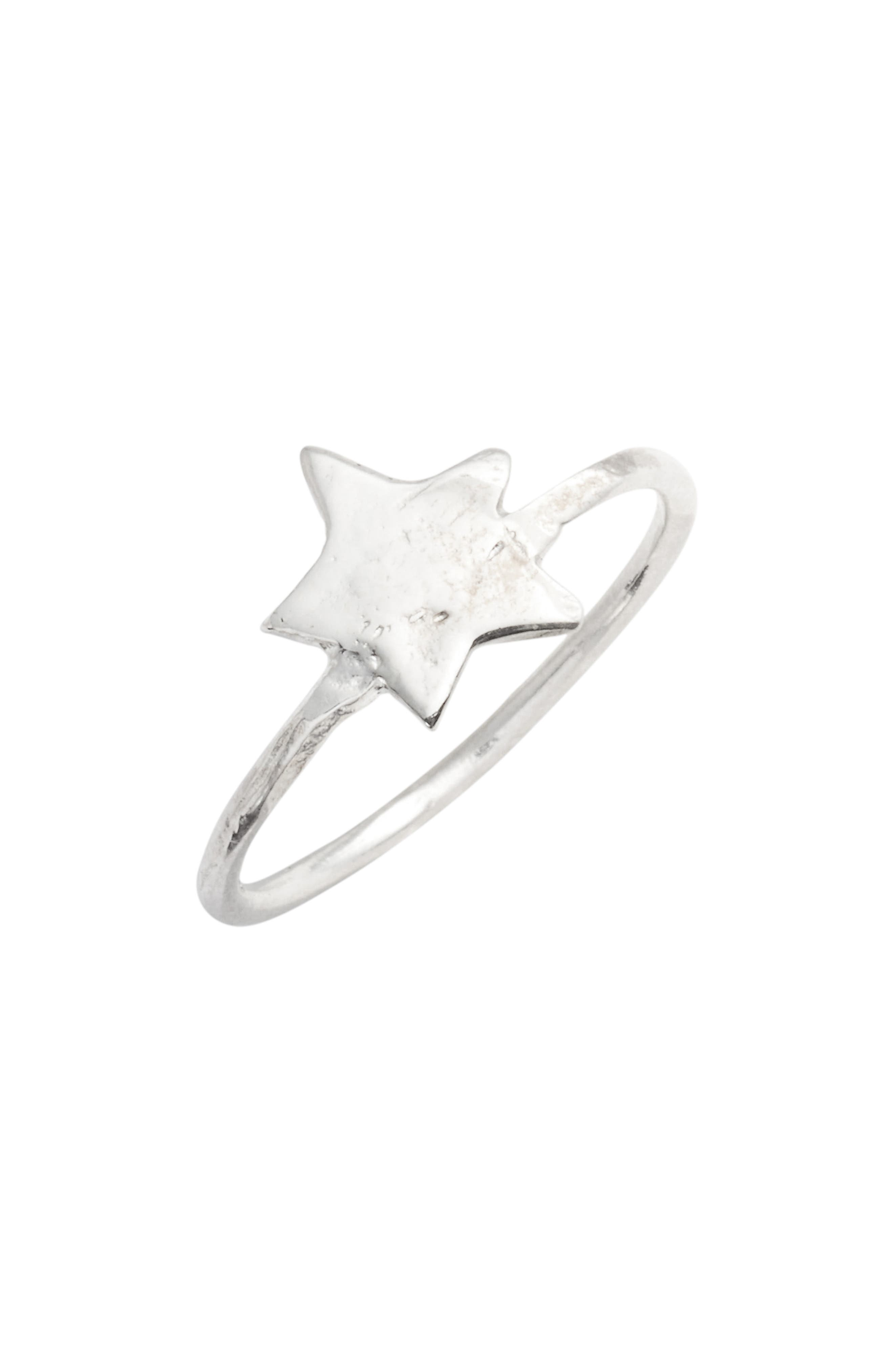 Star Ring,                         Main,                         color, Silver