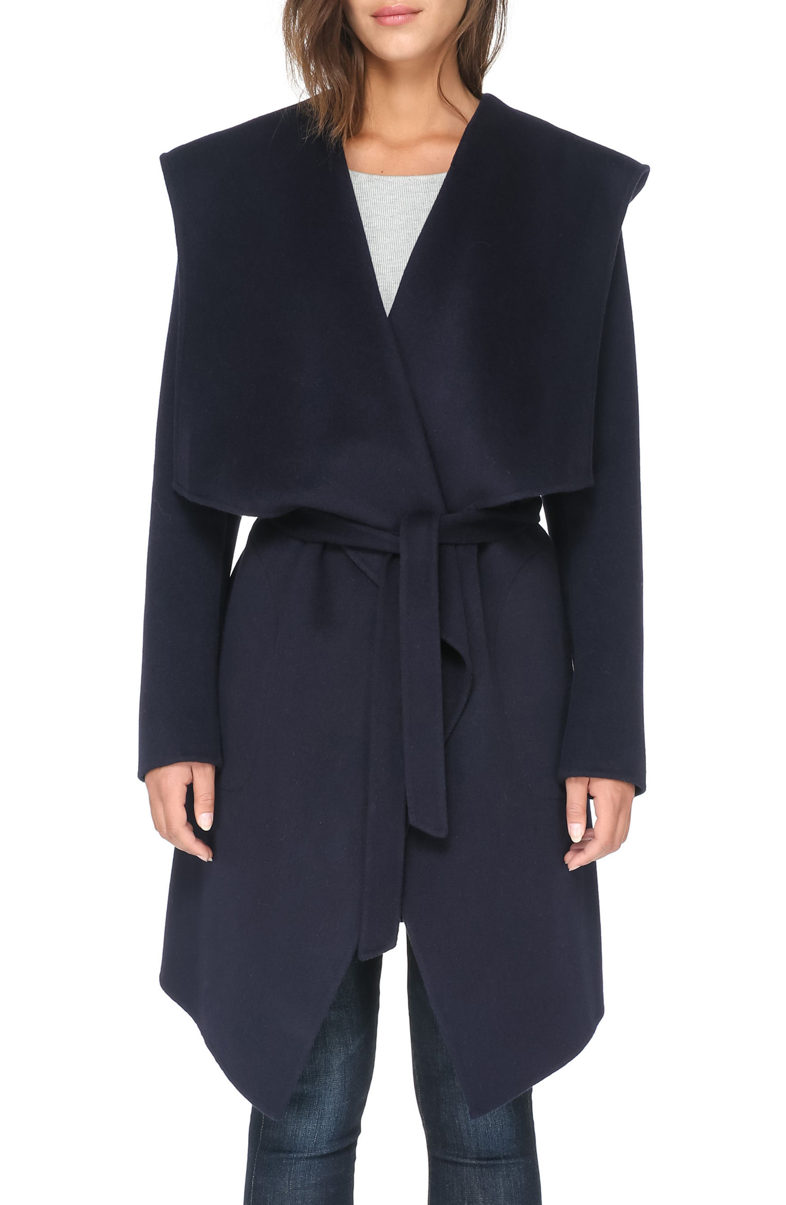 Alternate Image 3  - Soia & Kyo Reversible Double Face Wool Blend Coat