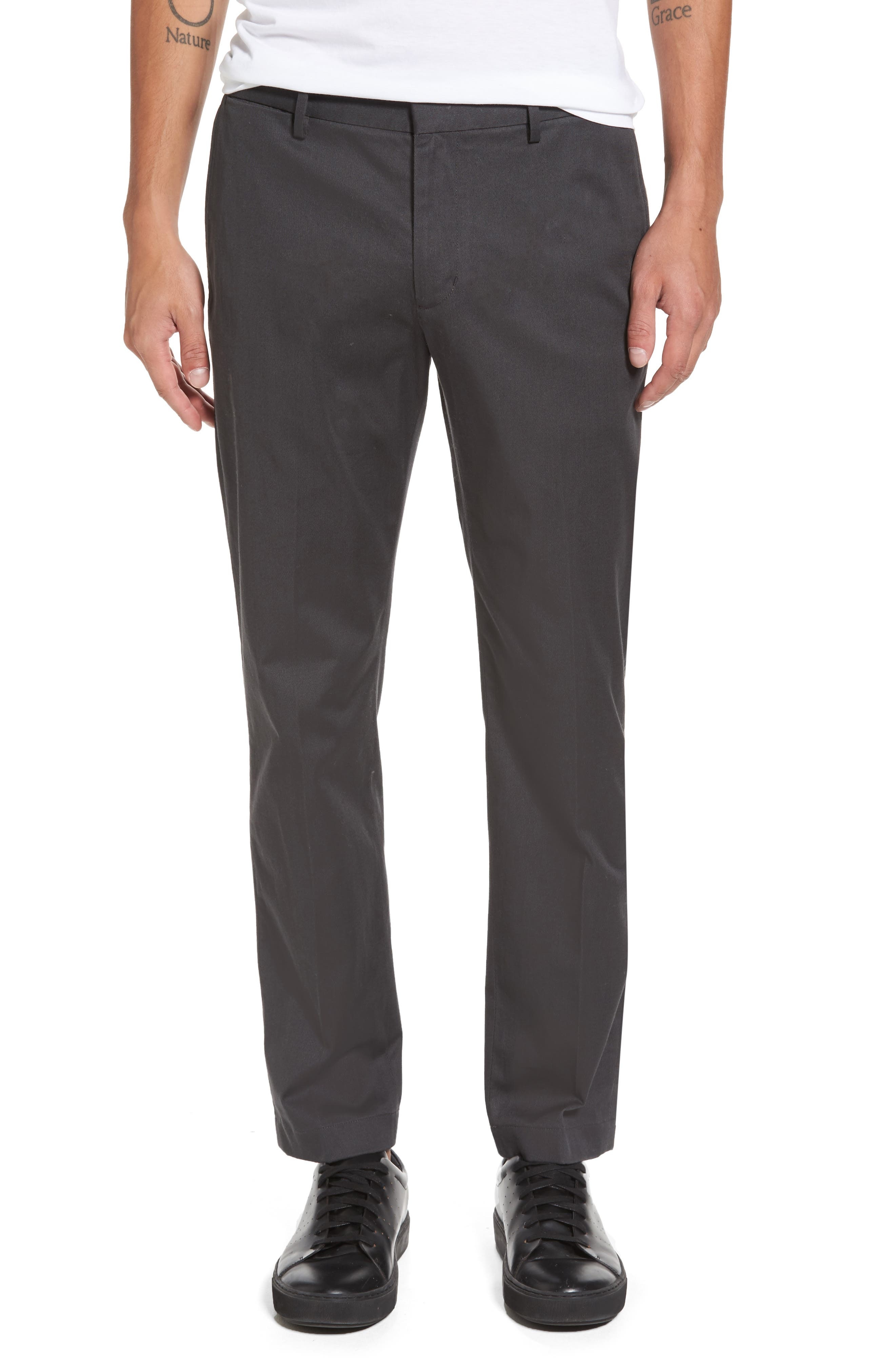 Vince Clean Cotton Blend Chinos