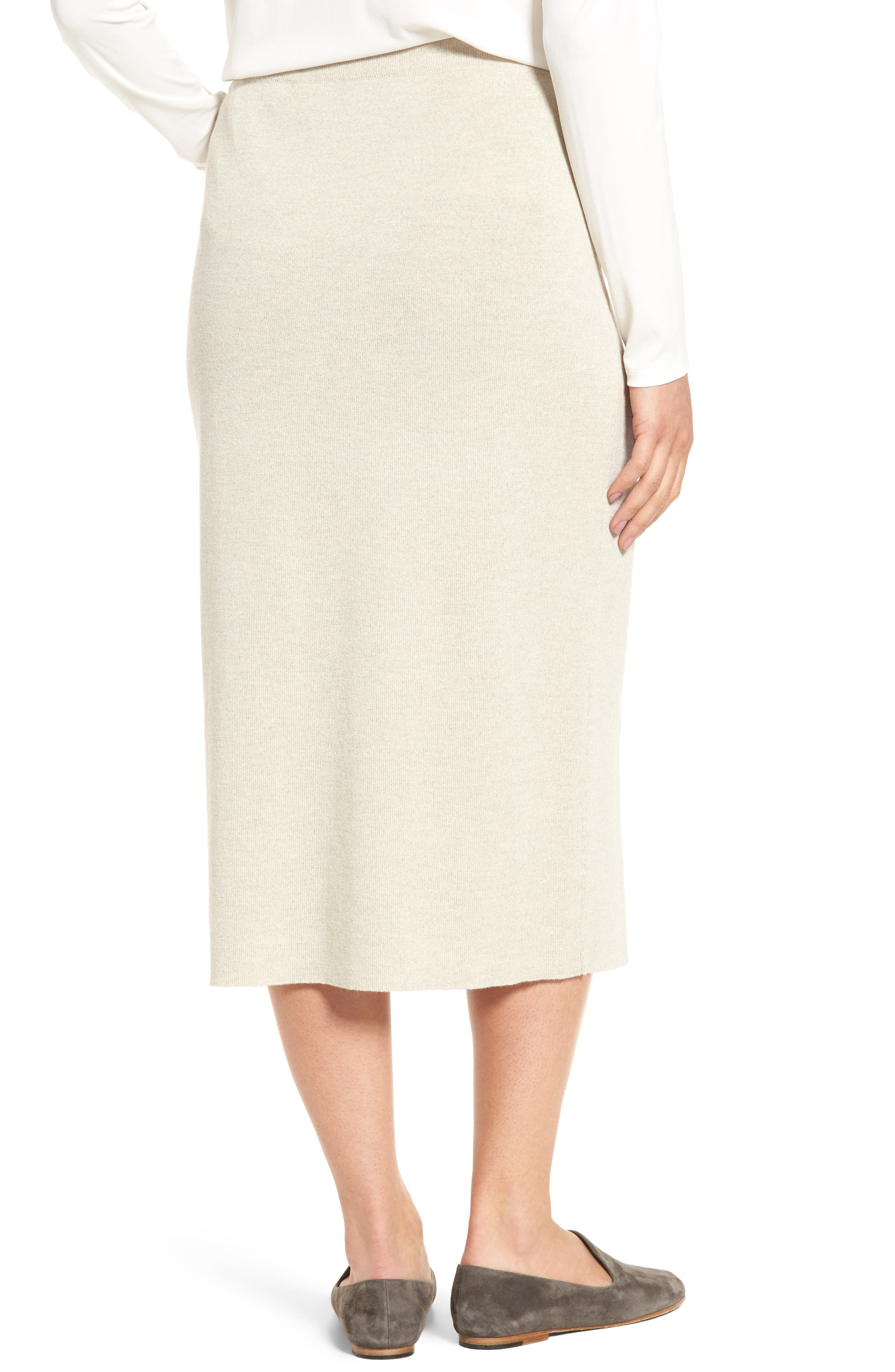 Alternate Image 2  - Eileen Fisher Wool Knit Pencil Skirt