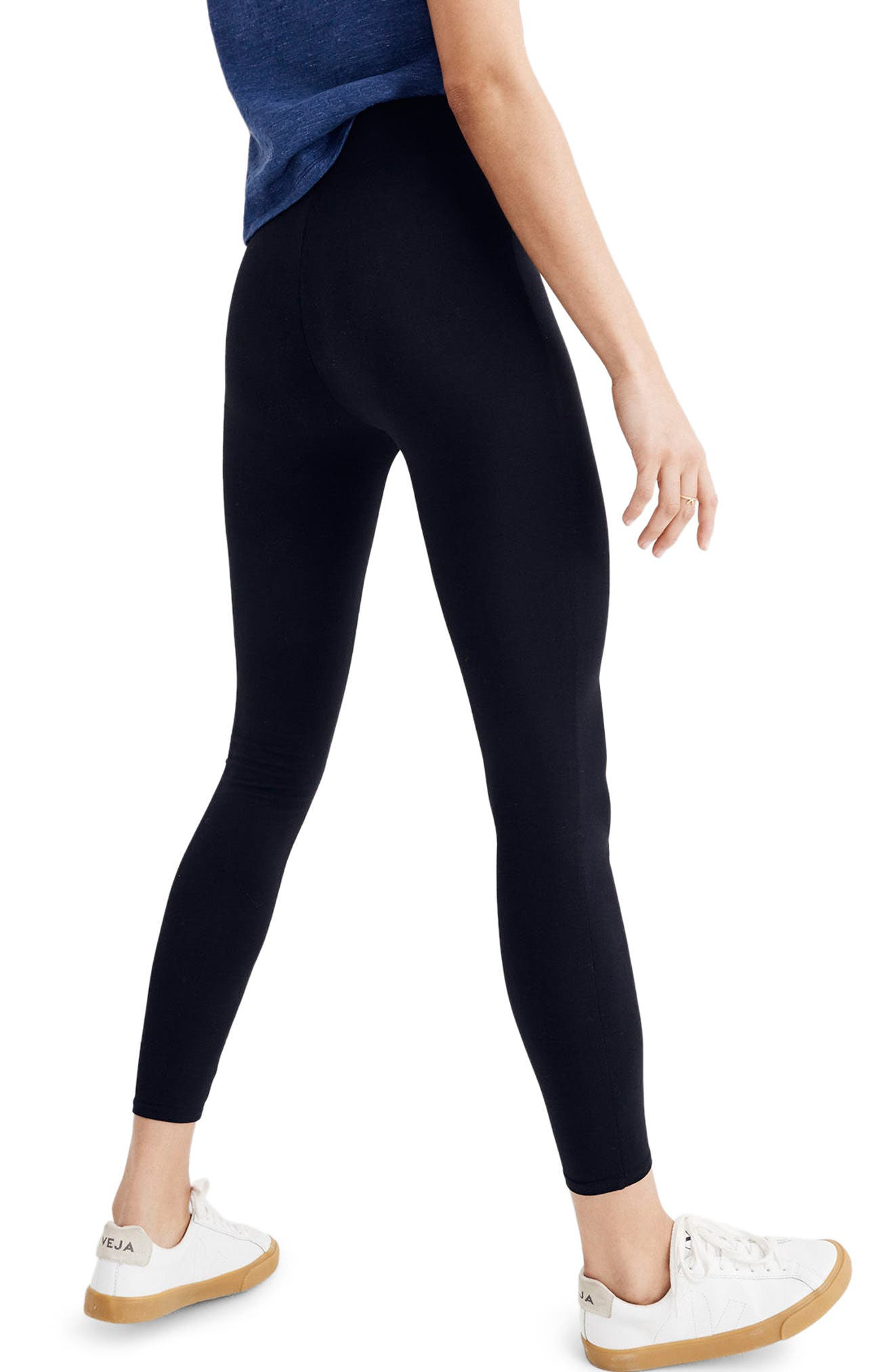 Alternate Image 2  - Madewell High Waist Ankle Leggings