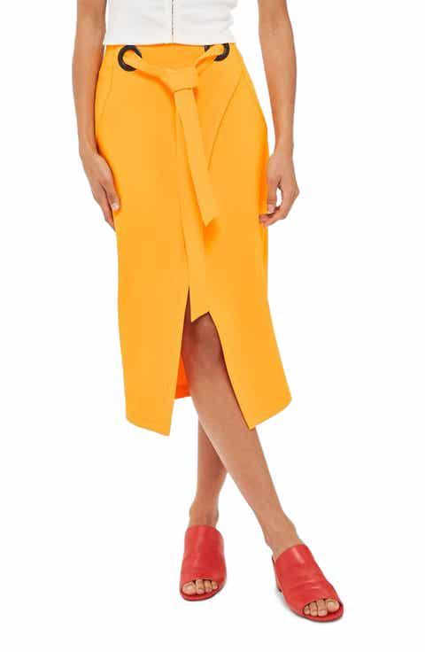 Women's Orange Skirts | Nordstrom