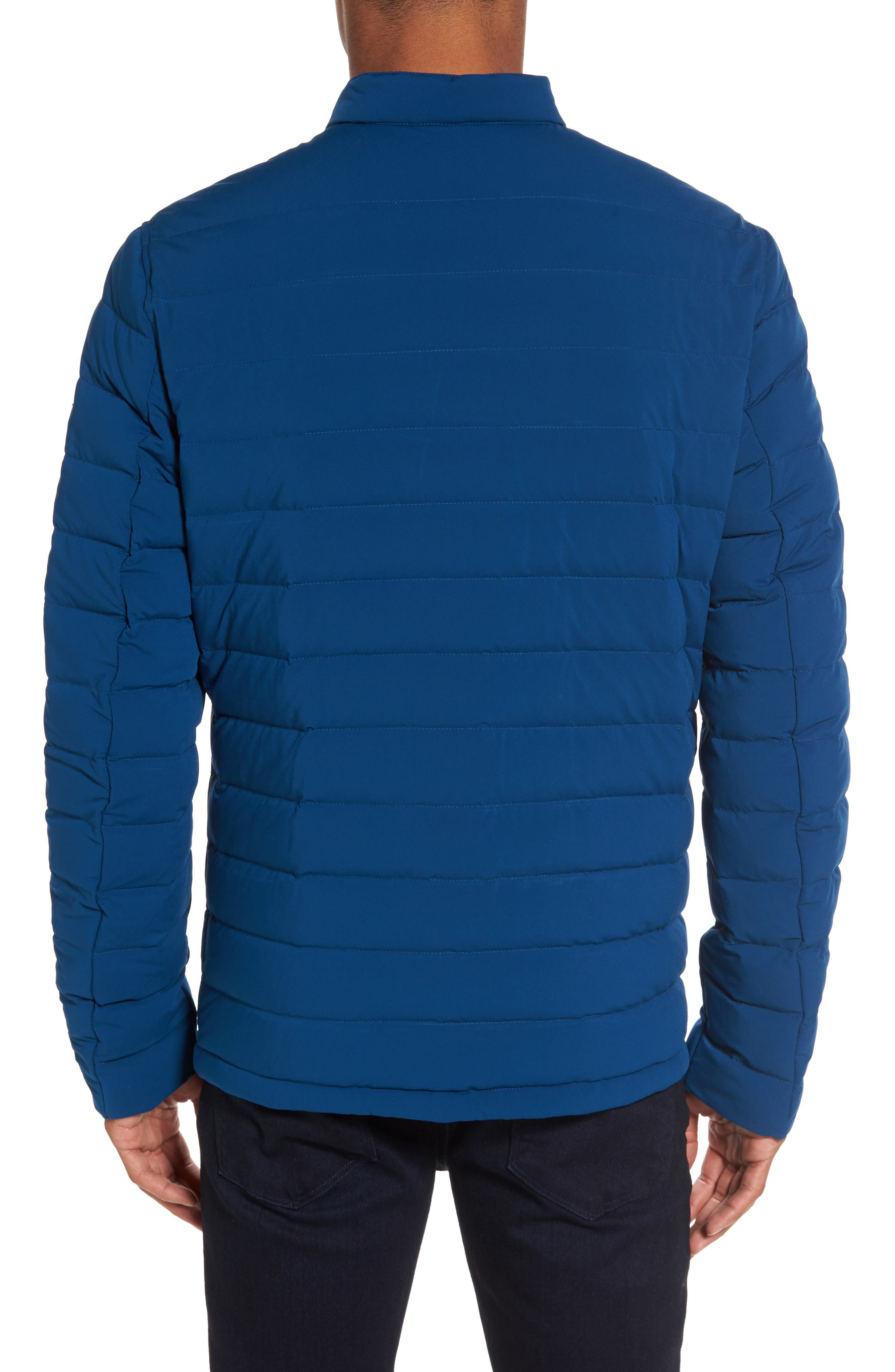 Packable Stretch Down Jacket,                             Alternate thumbnail 2, color,                             Pacific Blue