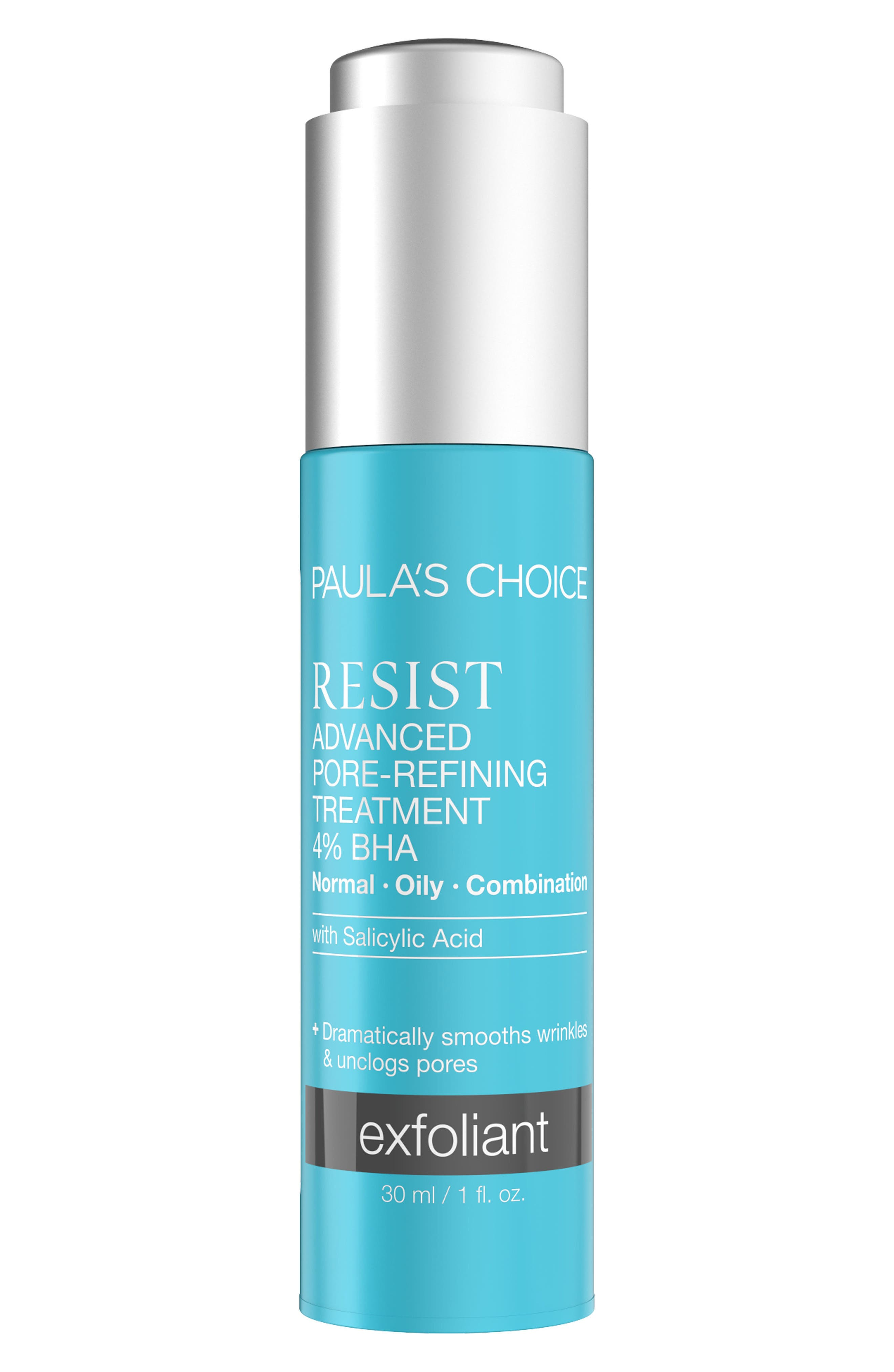 Resist Advanced Pore Refining Treatment 4% BHA,                             Main thumbnail 1, color,                             No Color