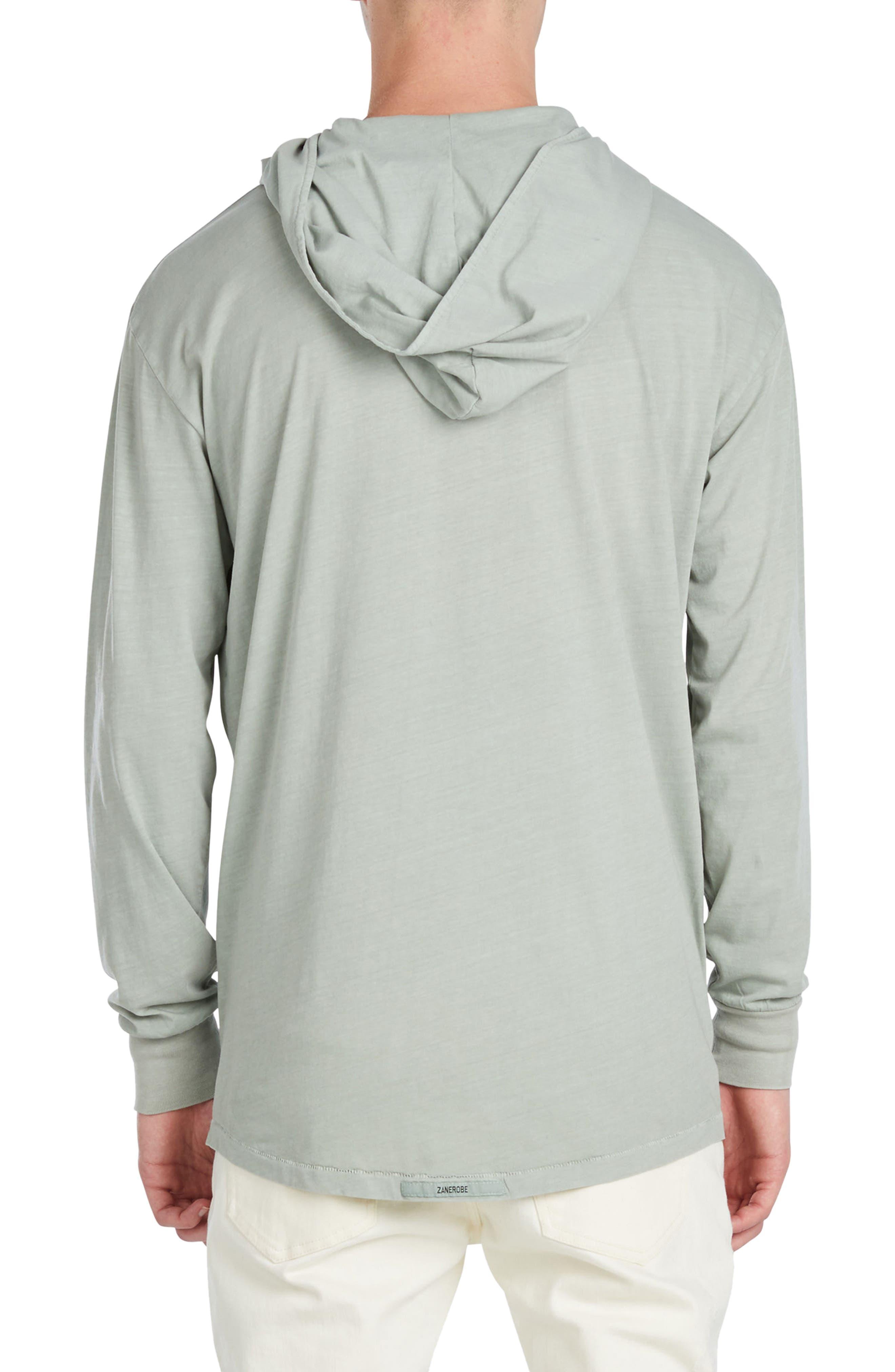 Alternate Image 2  - ZANEROBE Rugger Long Sleeve Hooded T-Shirt