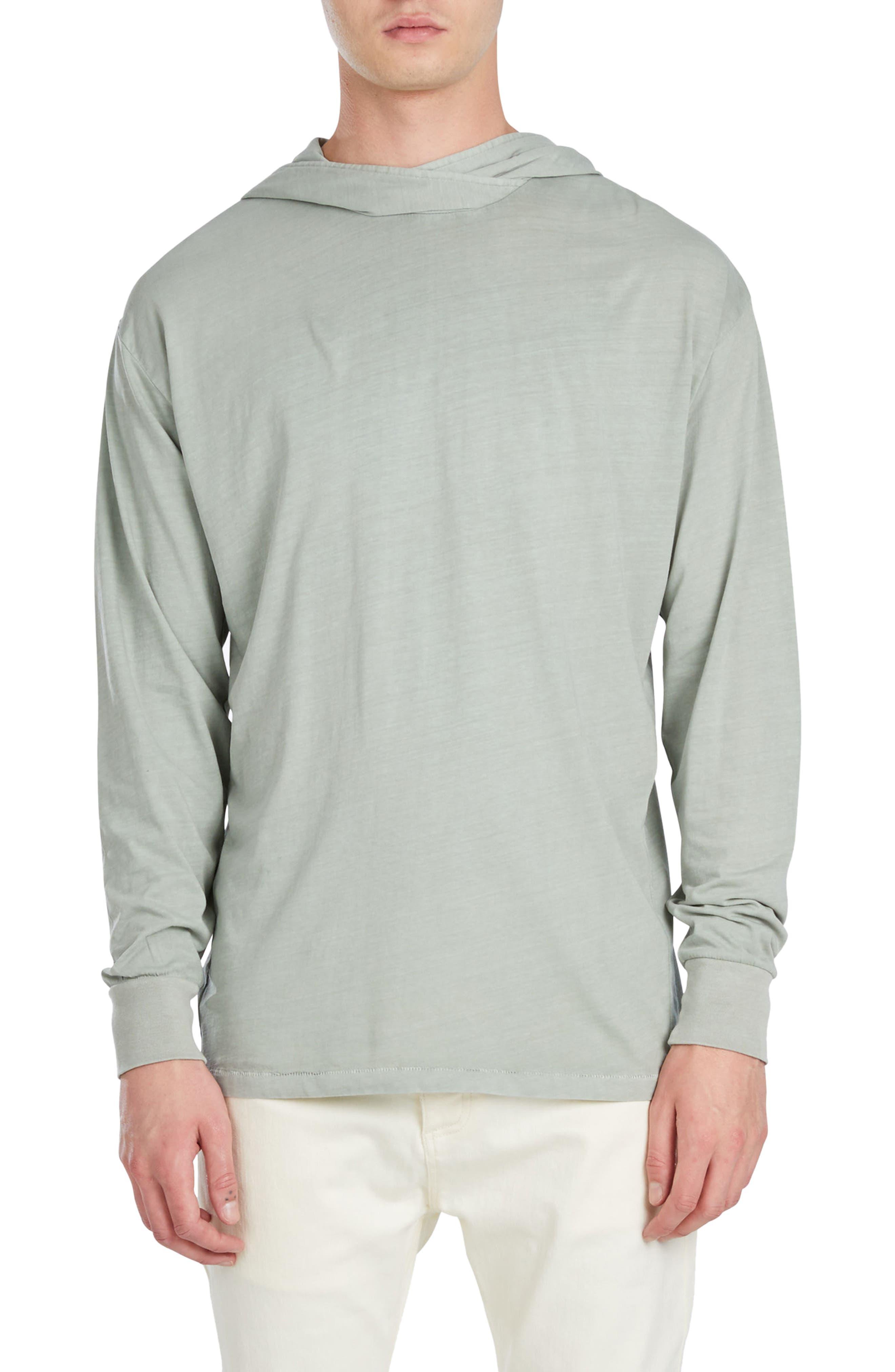 Alternate Image 1 Selected - ZANEROBE Rugger Long Sleeve Hooded T-Shirt