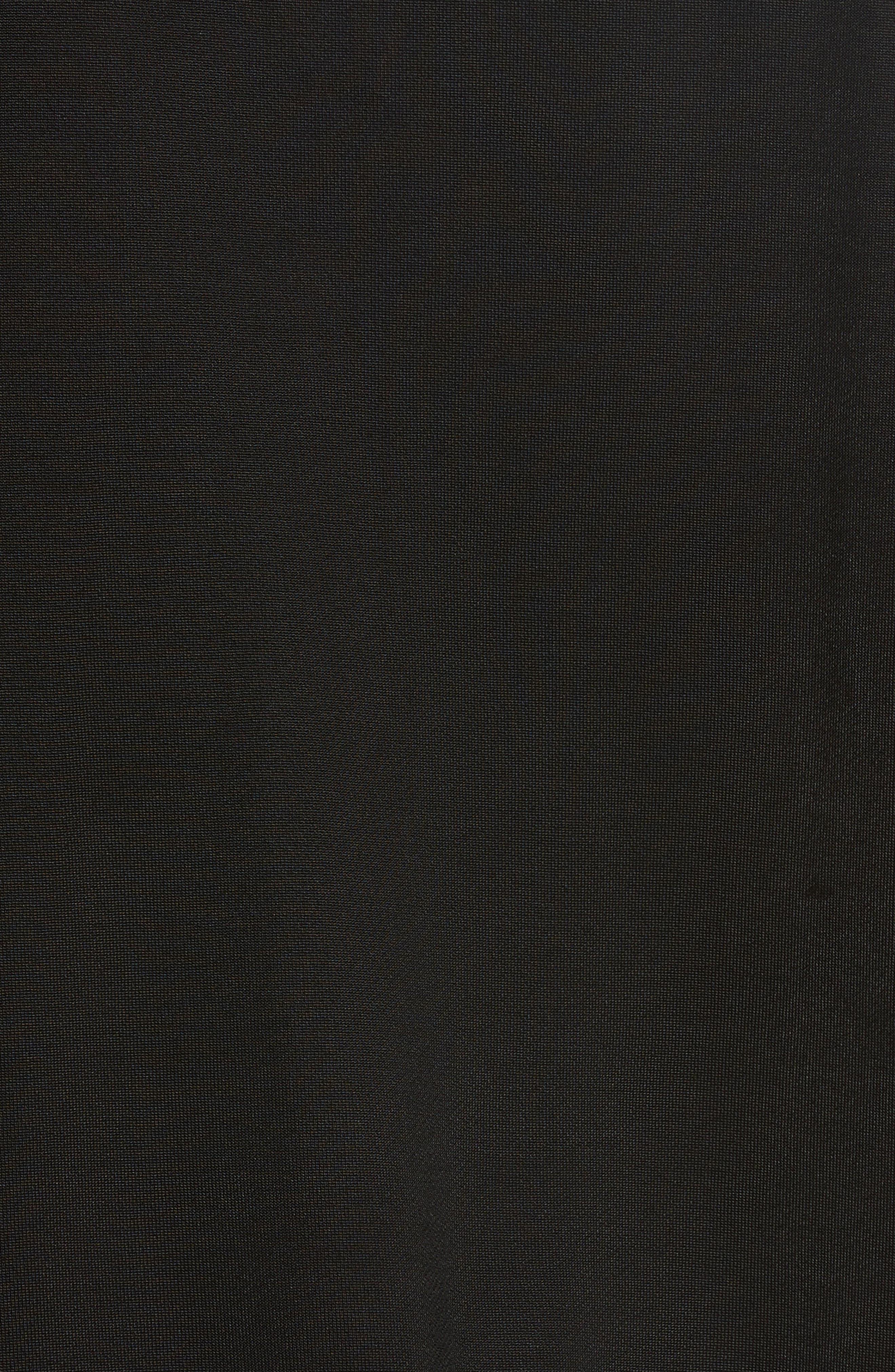 French Terry Sweatshirt,                             Alternate thumbnail 7, color,                             Black