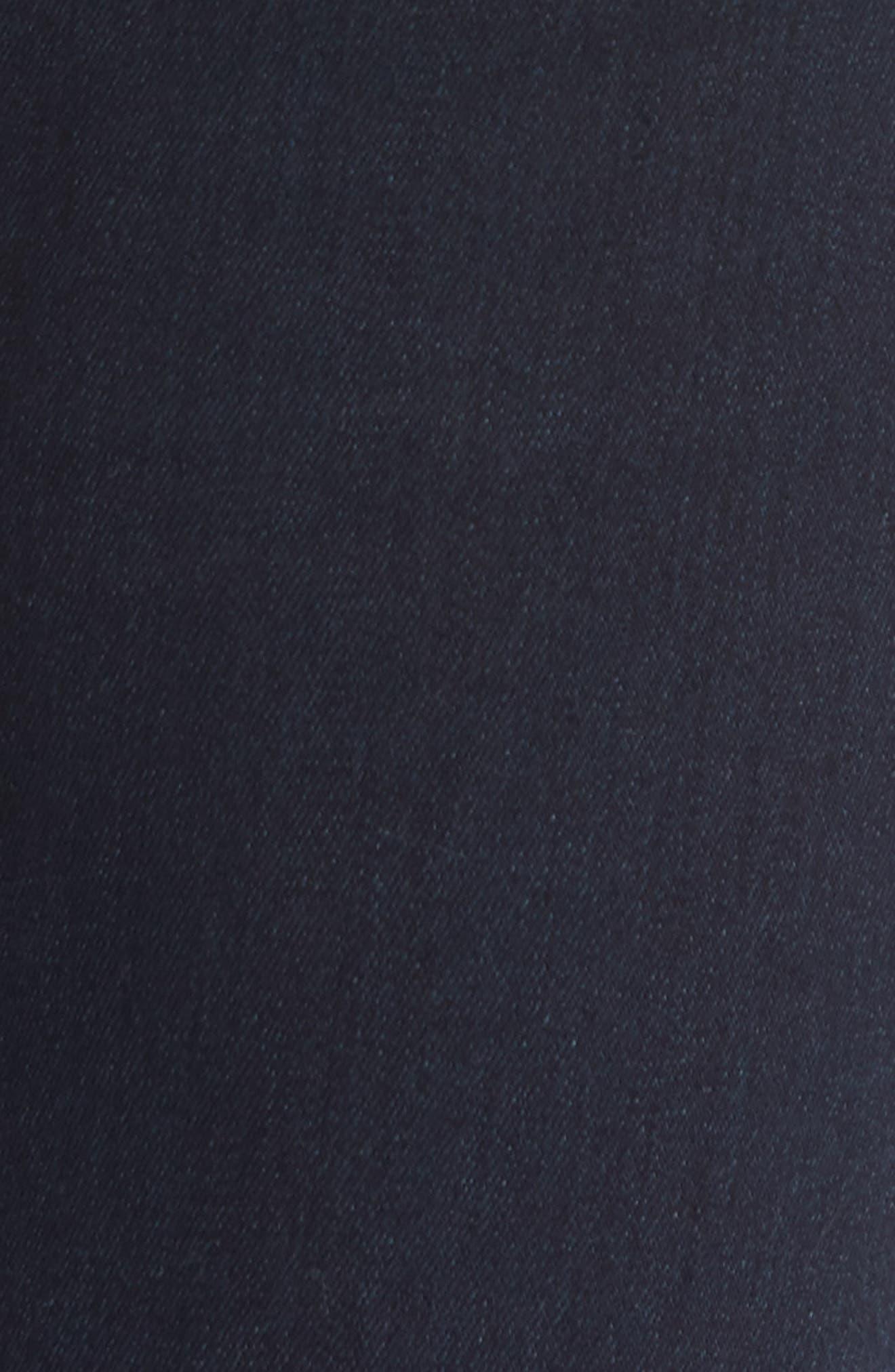 Rocket High Waist Skinny Jeans,                             Alternate thumbnail 5, color,                             Ozone Ink