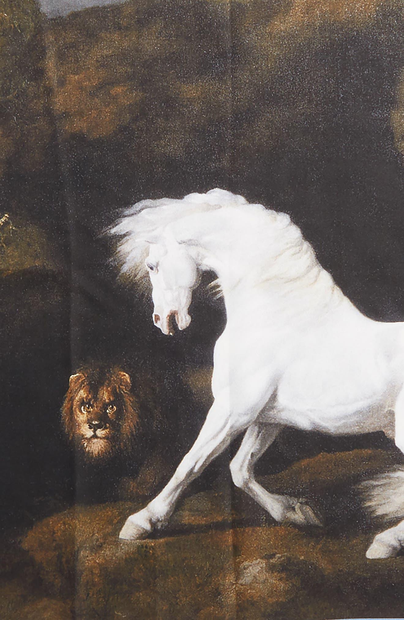 Alternate Image 3  - Stella McCartney Stubbs Horse Silk Scarf