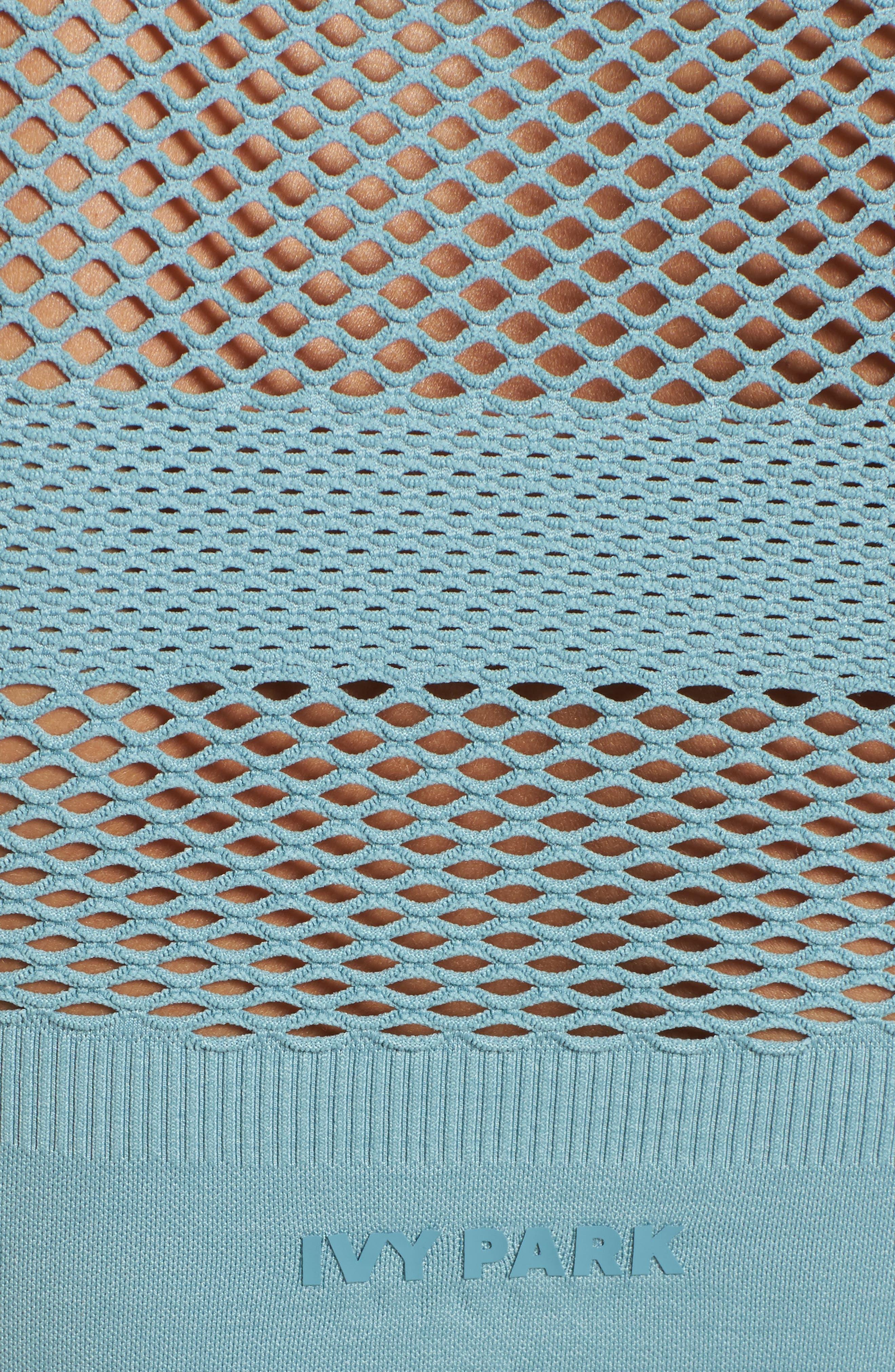 Alternate Image 6  - IVY PARK® Net Crop Top