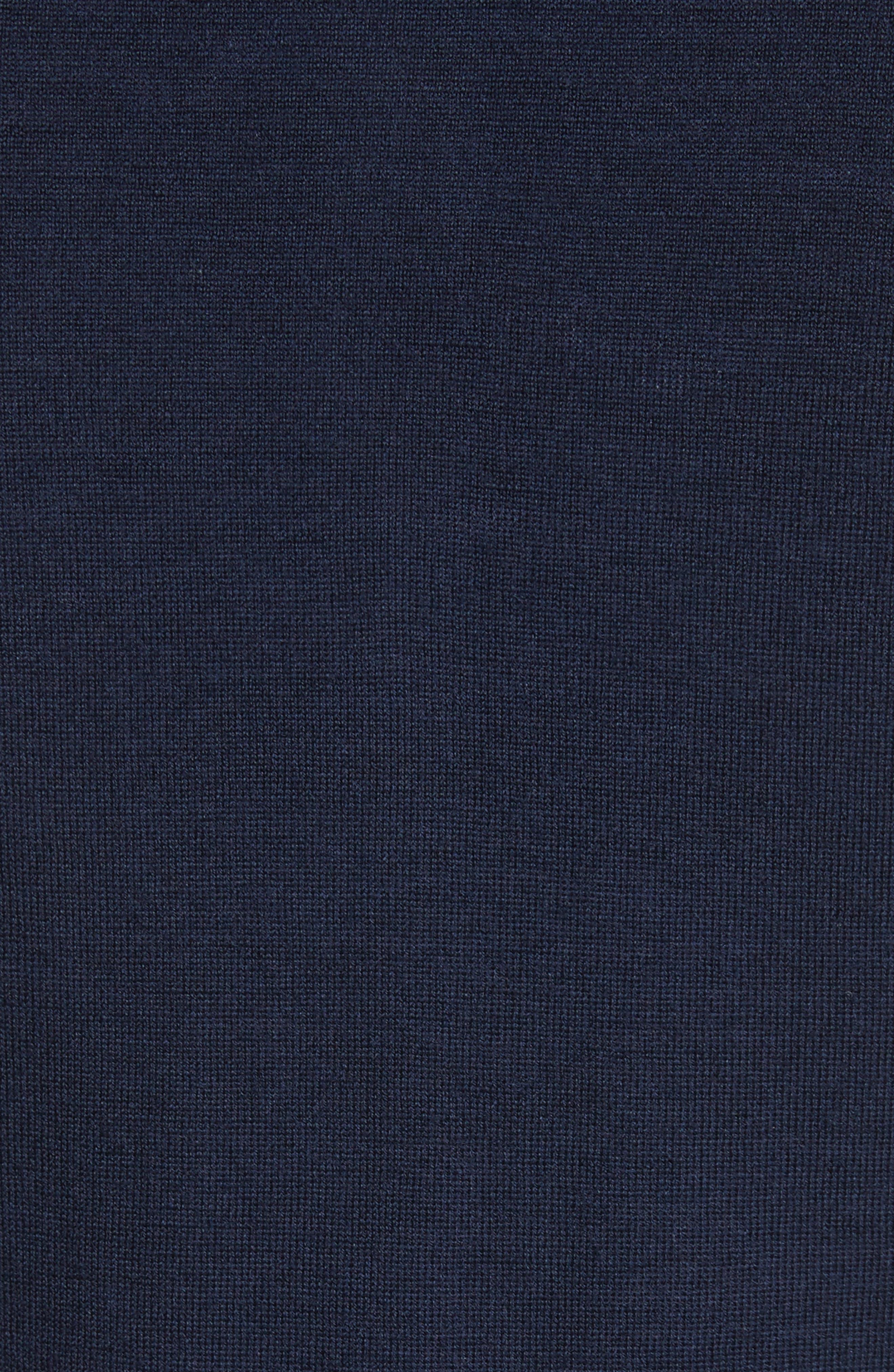 Alternate Image 5  - Armani Collezioni Zip Front Raglan Sweatshirt