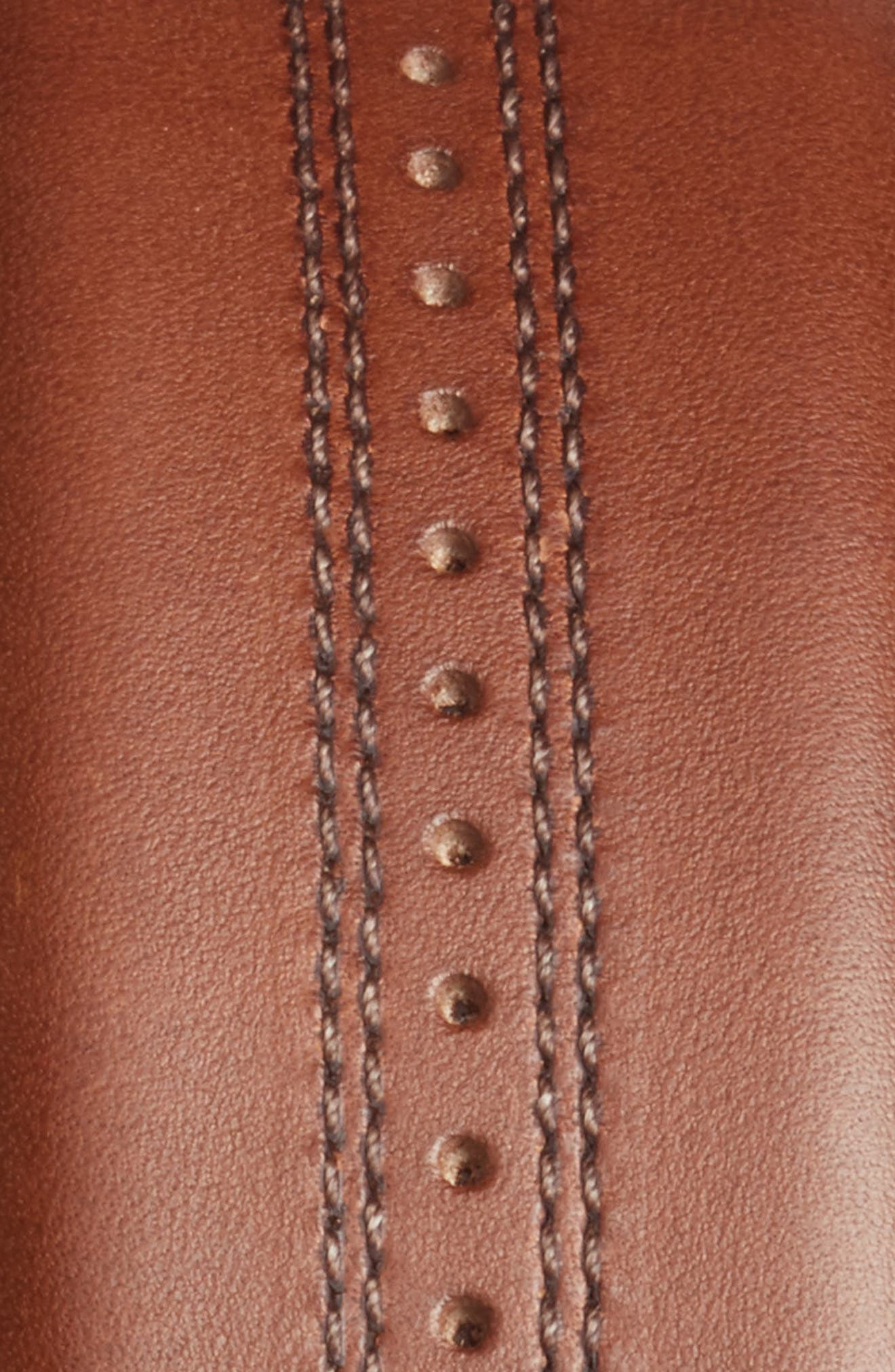 Alternate Image 2  - Mezlan Leather Belt