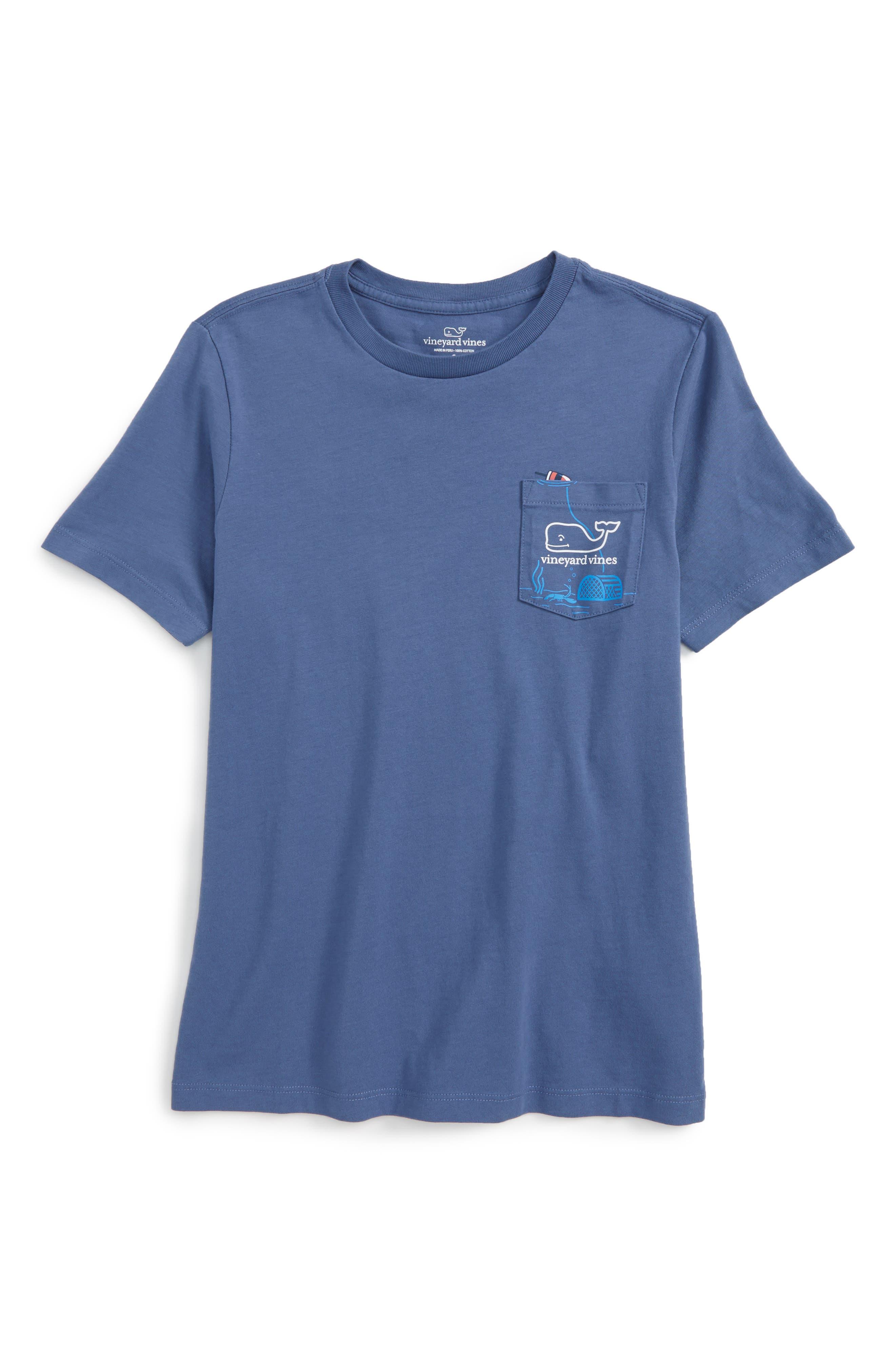 vineyard vines Lobster Trap Cotton T-Shirt (Big Boys)
