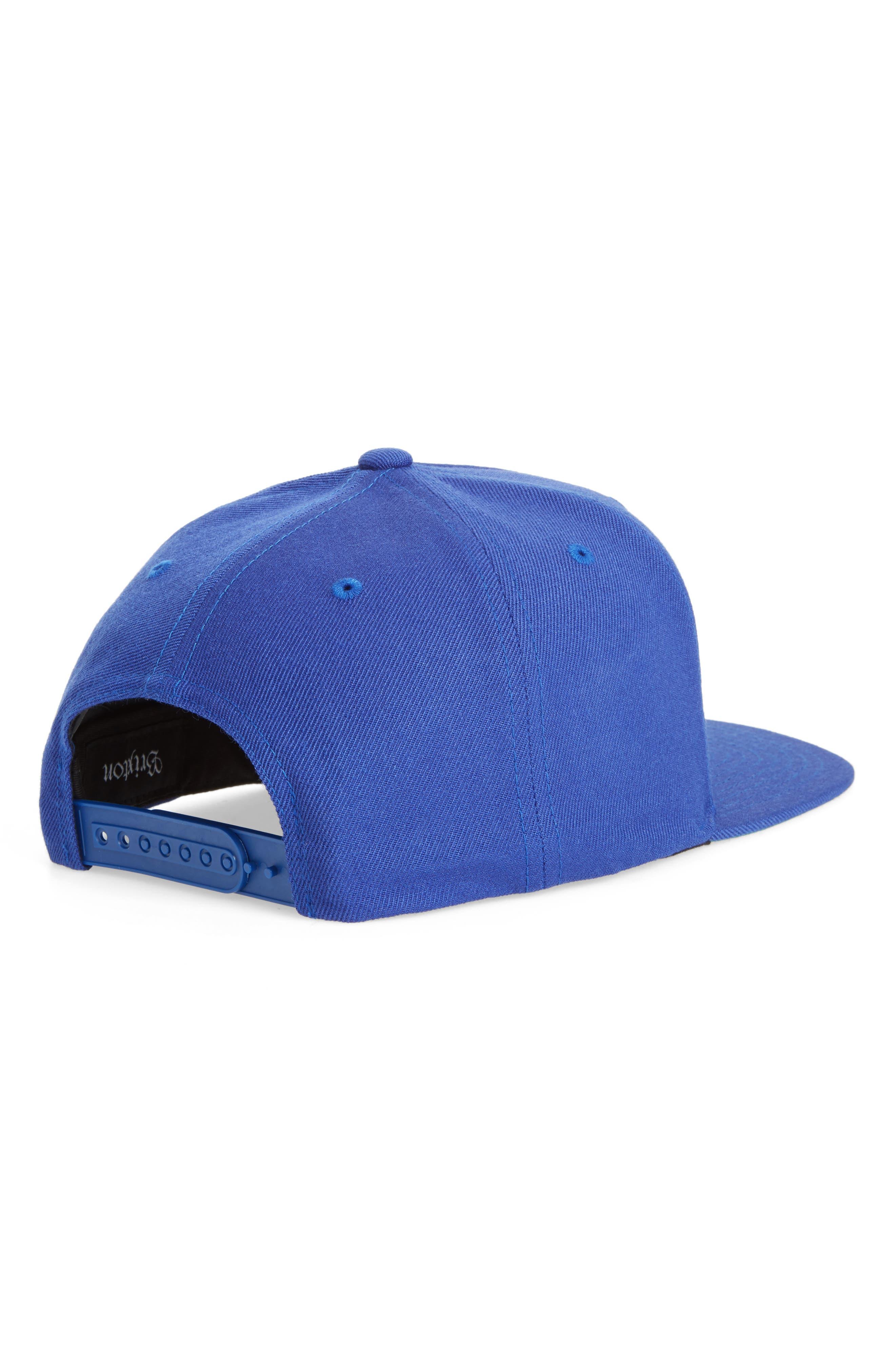 Alternate Image 2  - Brighton Obtuse Snapback Baseball Cap