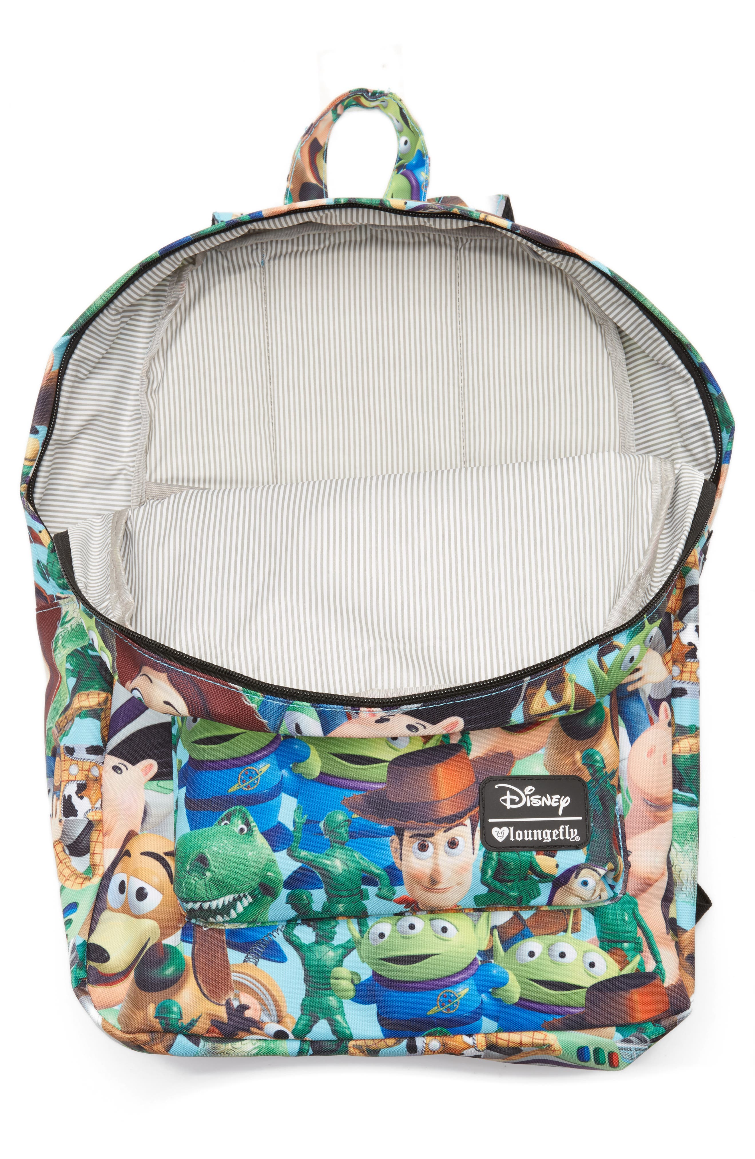 Disney<sup>®</sup> Toy Story Backpack,                             Alternate thumbnail 3, color,                             Blue Multi