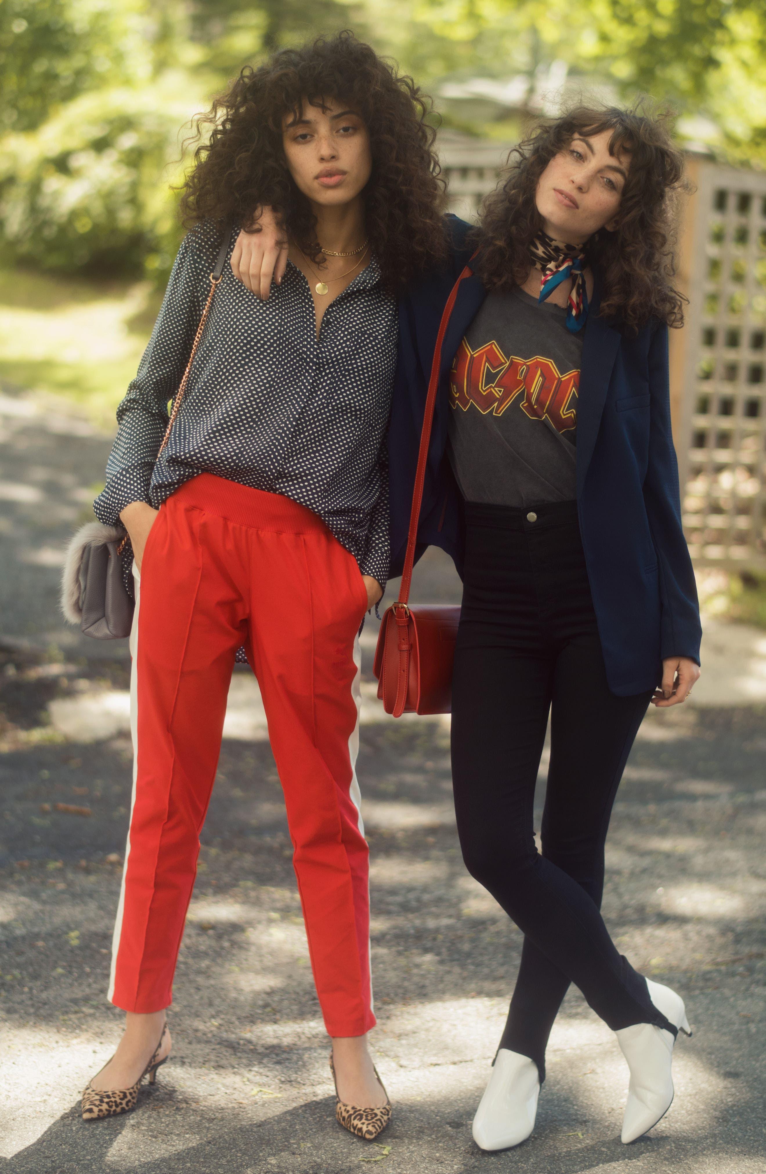 Alternate Image 2  - Topshop High Rise Skinny Stirrup Jeans