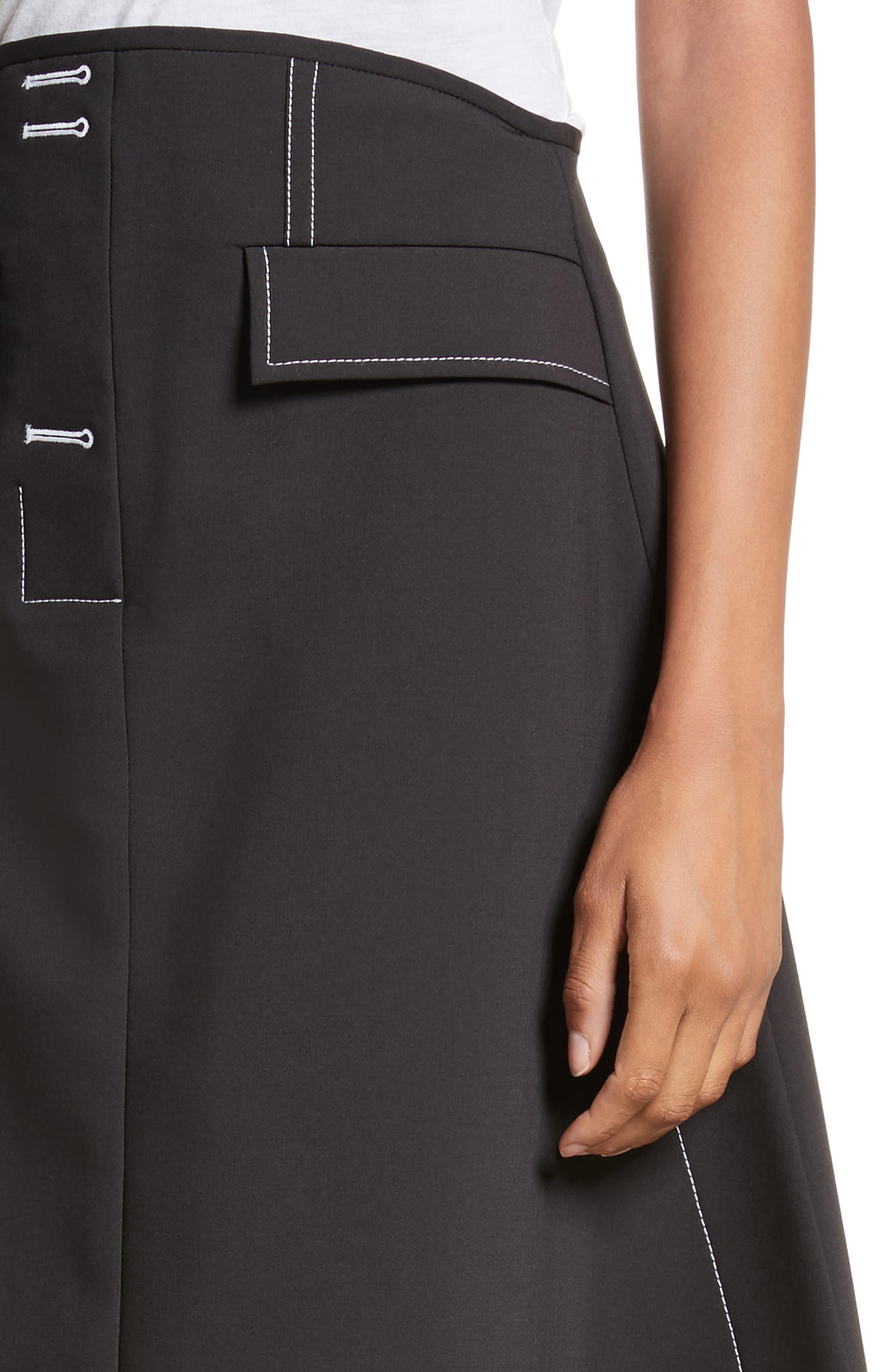 Alternate Image 4  - ELLERY Eunice A-Line Skirt