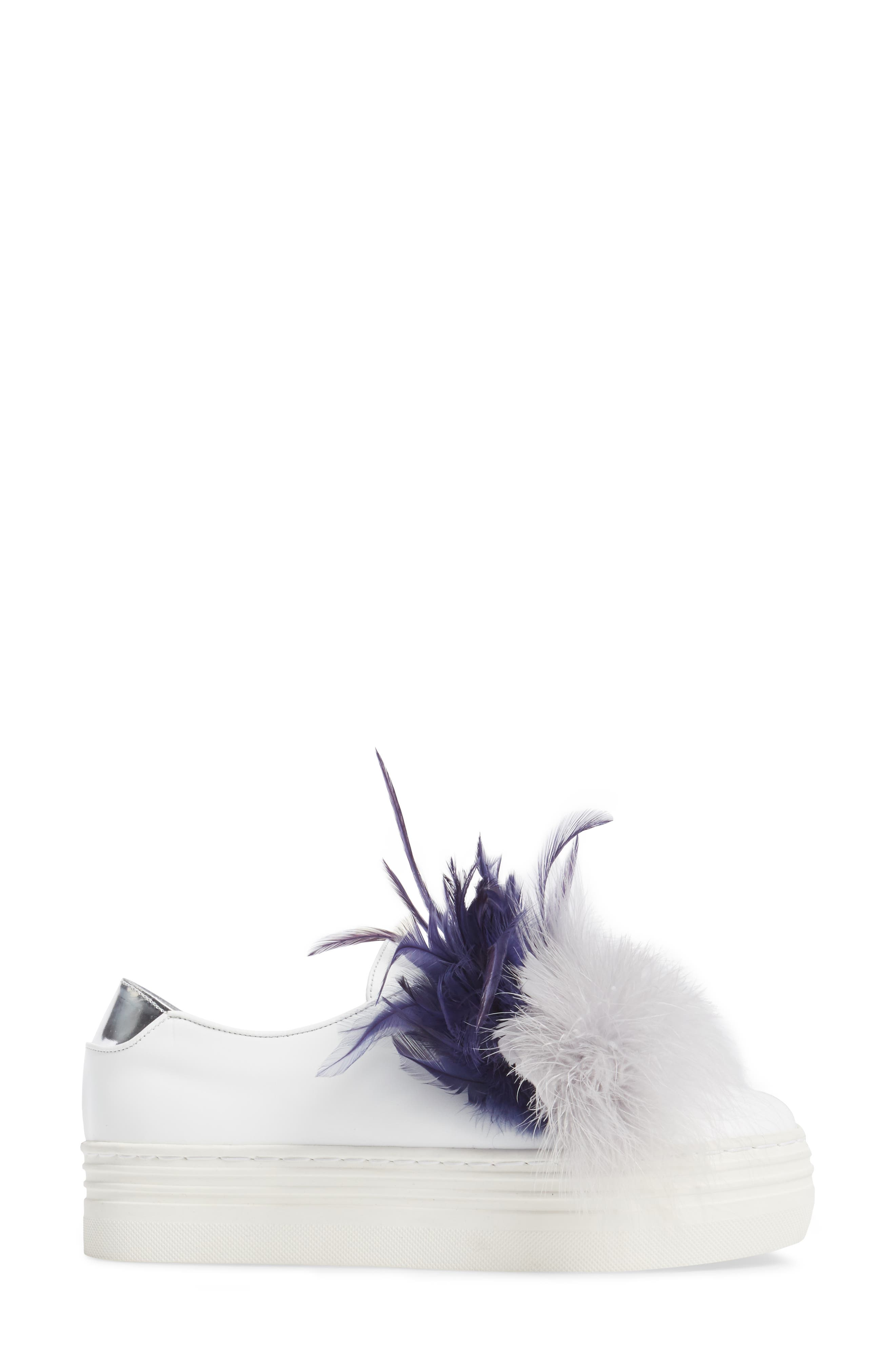 Alternate Image 3  - Here / Now Tina Feathered Slip-On Sneaker (Women)