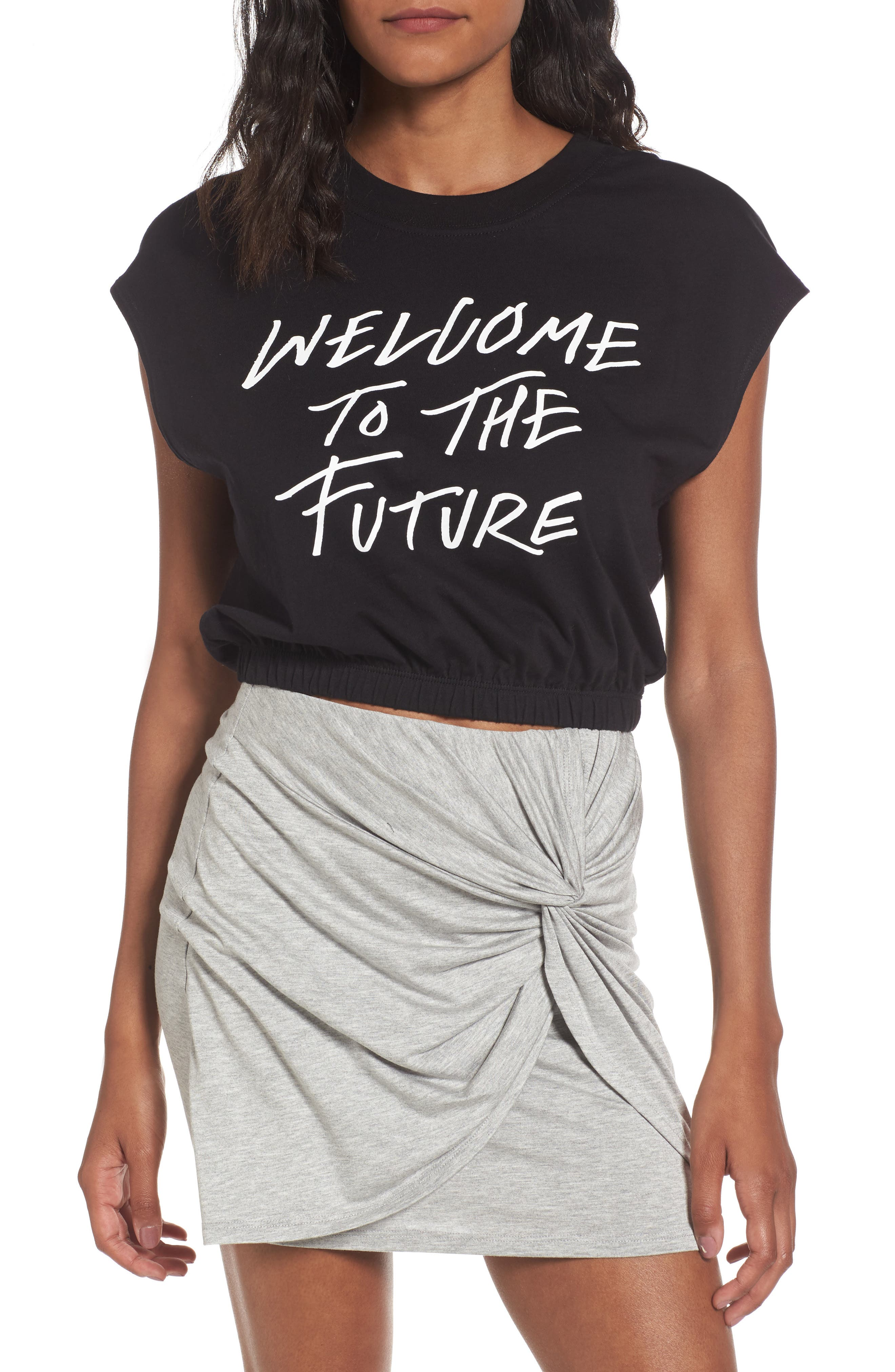 Volcom Cut Cup Crop Graphic Tee
