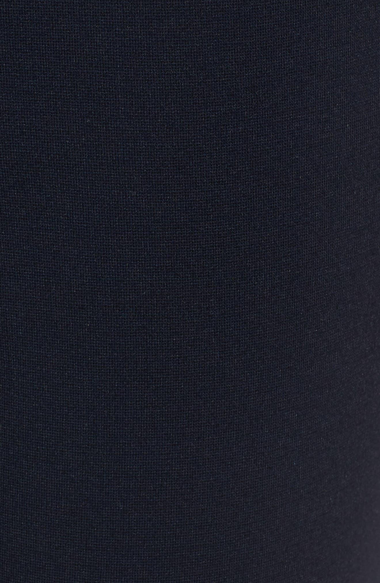 Alternate Image 6  - Nordstrom Signature Tab Detail Ponte Ankle Pants