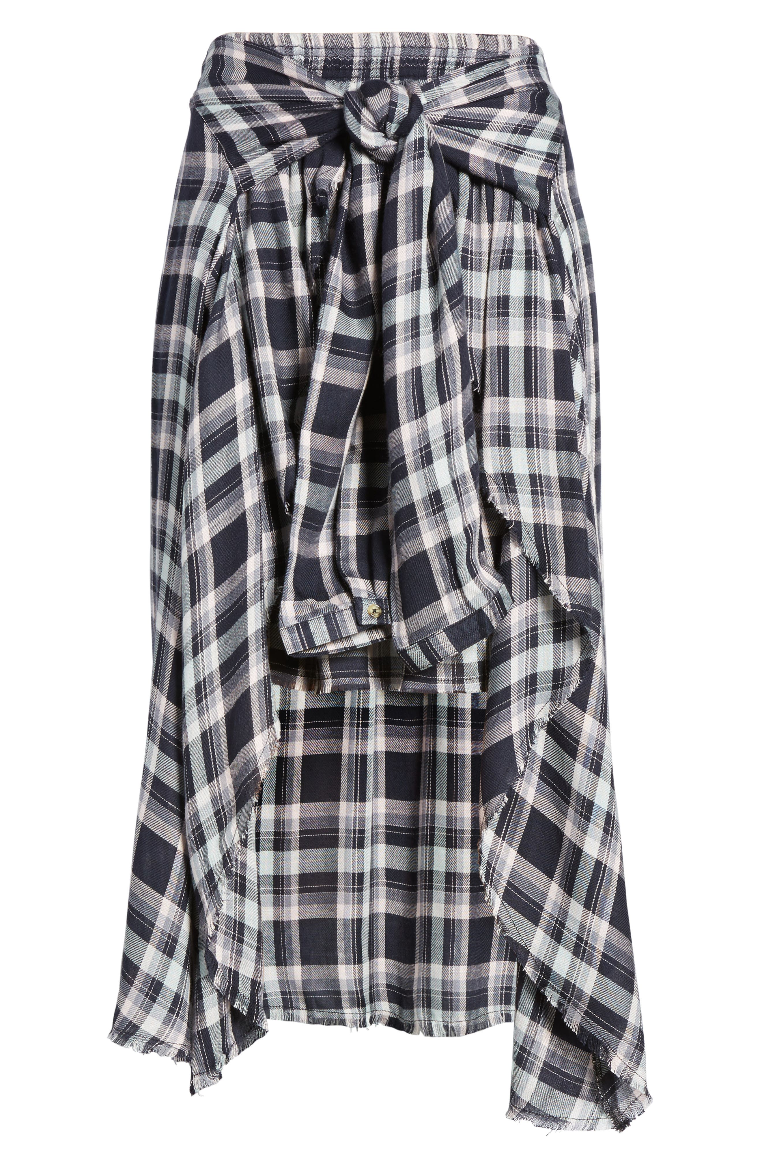 Alternate Image 6  - Somedays Lovin When We Wake Plaid Skirt