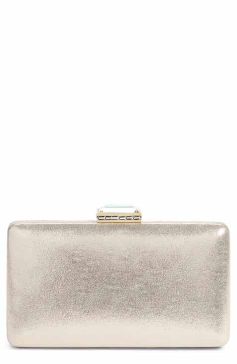 Nordstrom Metallic Box Clutch b4d583edf